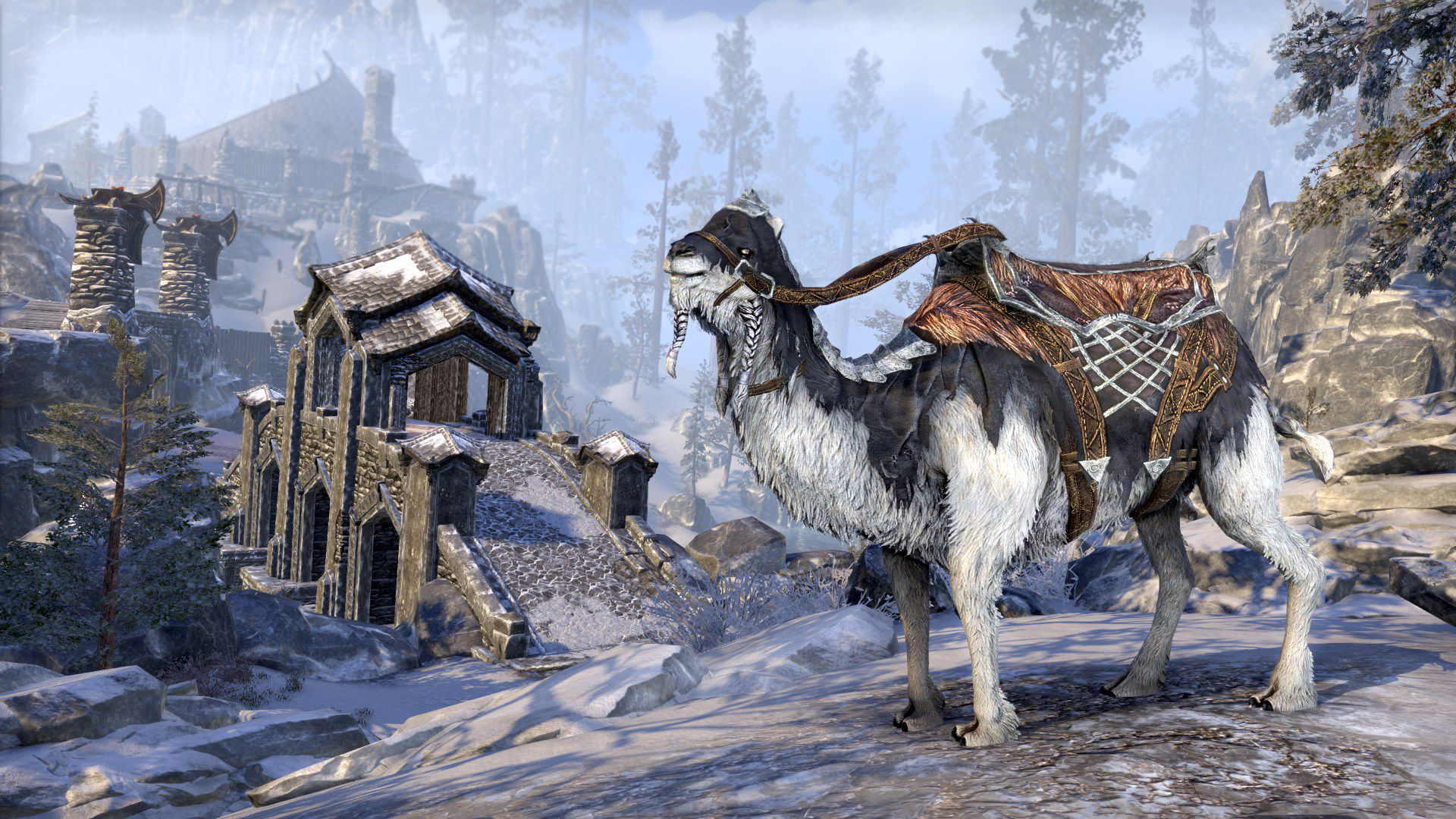 Frostbane Camel, Apex Mount, Scalecaller Crown Crate (image by Zenimax Online)