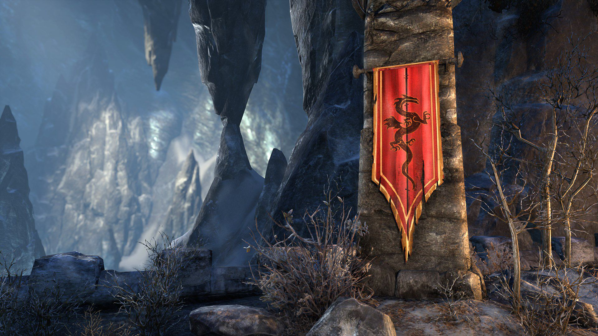 Banner of Peryite, Legendary Furniture, Scalecaller Crown Crate (image by Zenimax Online)
