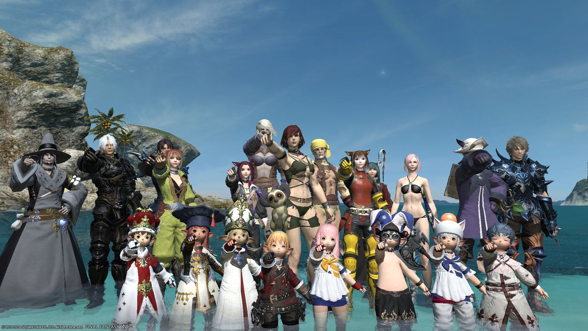 Final Fantasy XIV Population