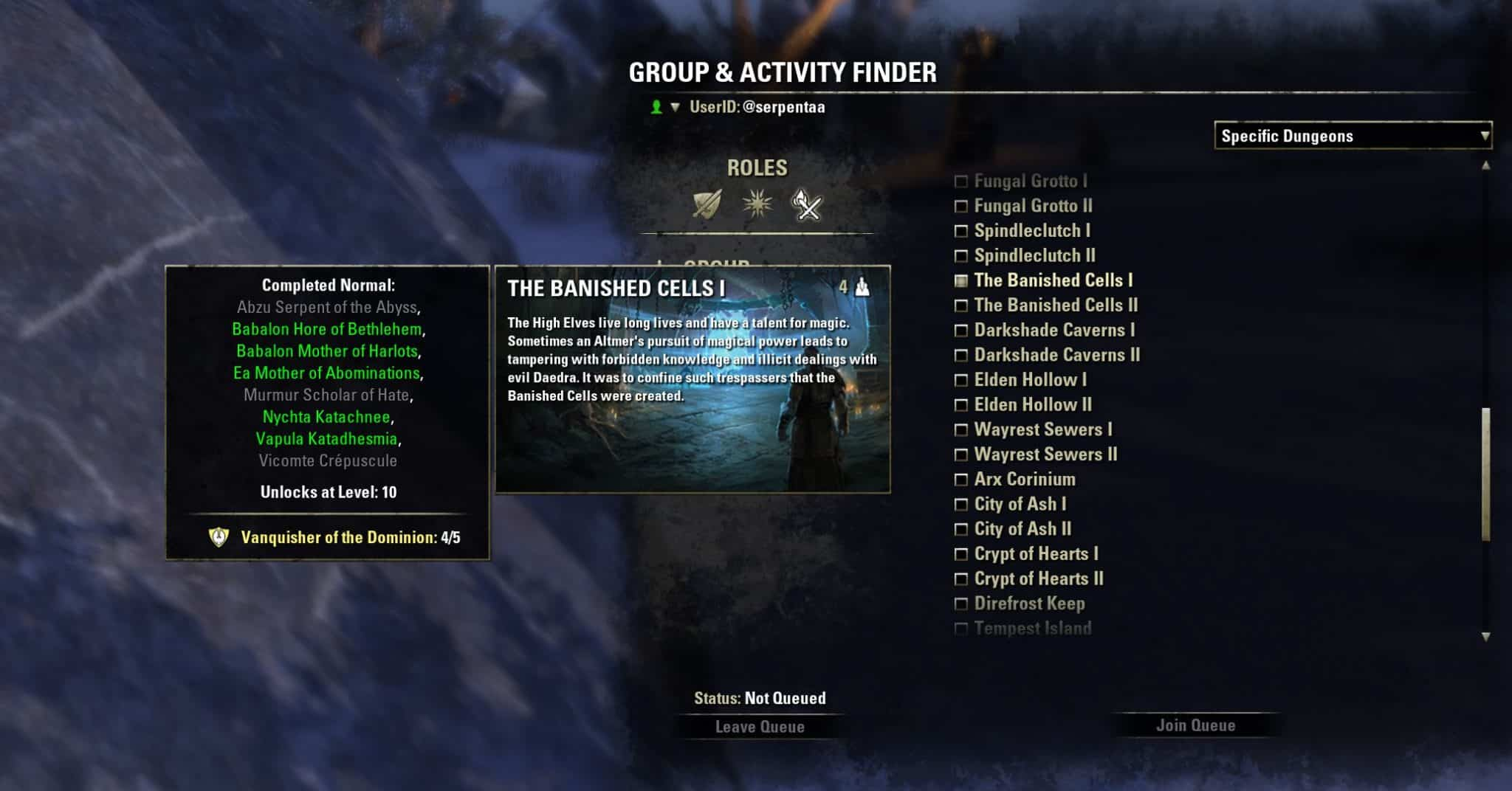 Dungeon Tracker by Phinix, The Elder Scrolls Online Addon (image by @serpentaa)