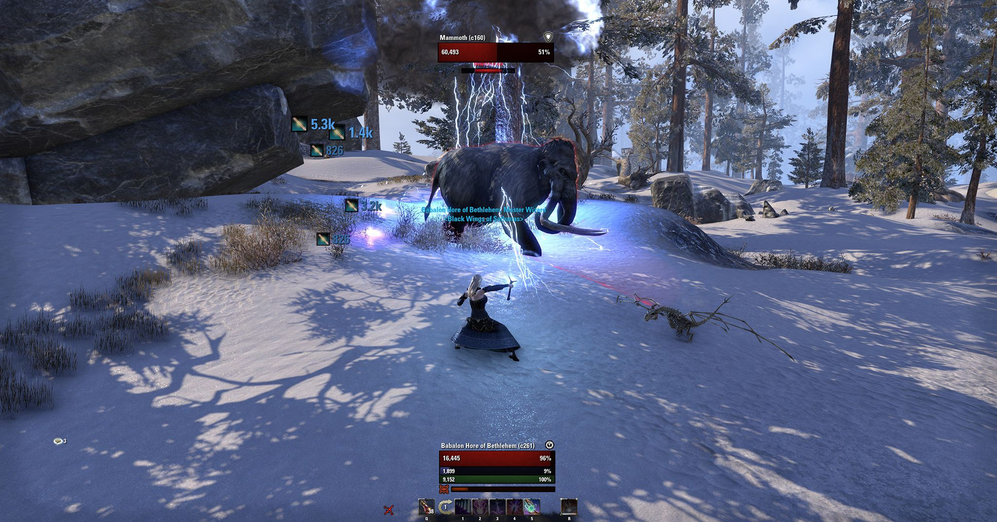 Foundry Tactical Combat by Rhyono, The Elder Scrolls Online Addon (image by @serpentaa)