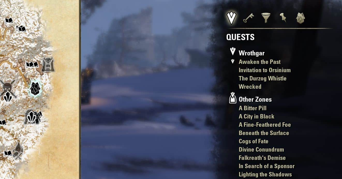 Votan's Improved Quests by votan, The Elder Scrolls Online Addon (image by @serpentaa)