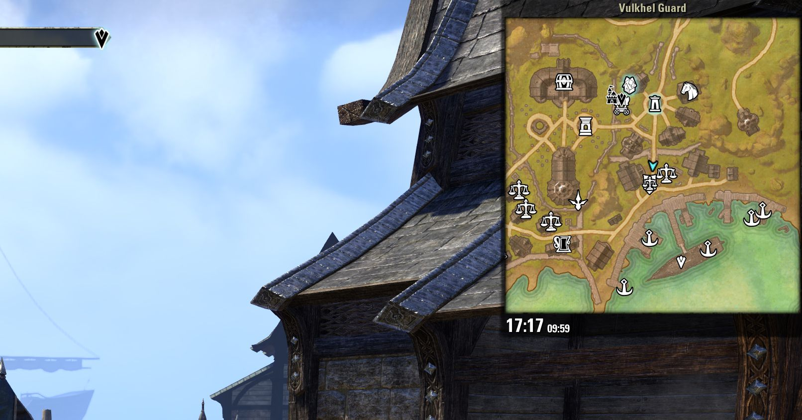 Votan's Minimap by votan, The Elder Scrolls Online Addon (image by @serpentaa)