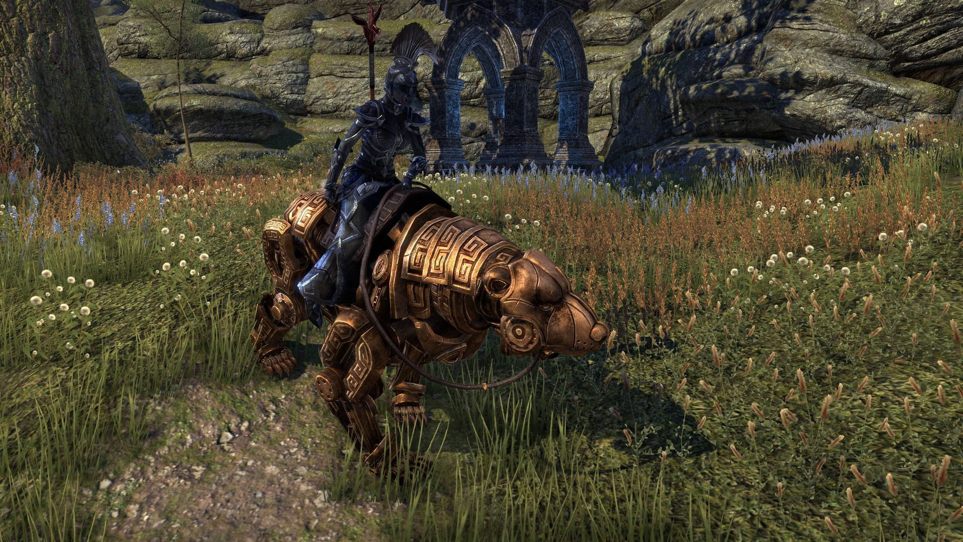 Dwarven Bear, Apex Mount, Dwarven Crown Crate (image by @serpentaa)