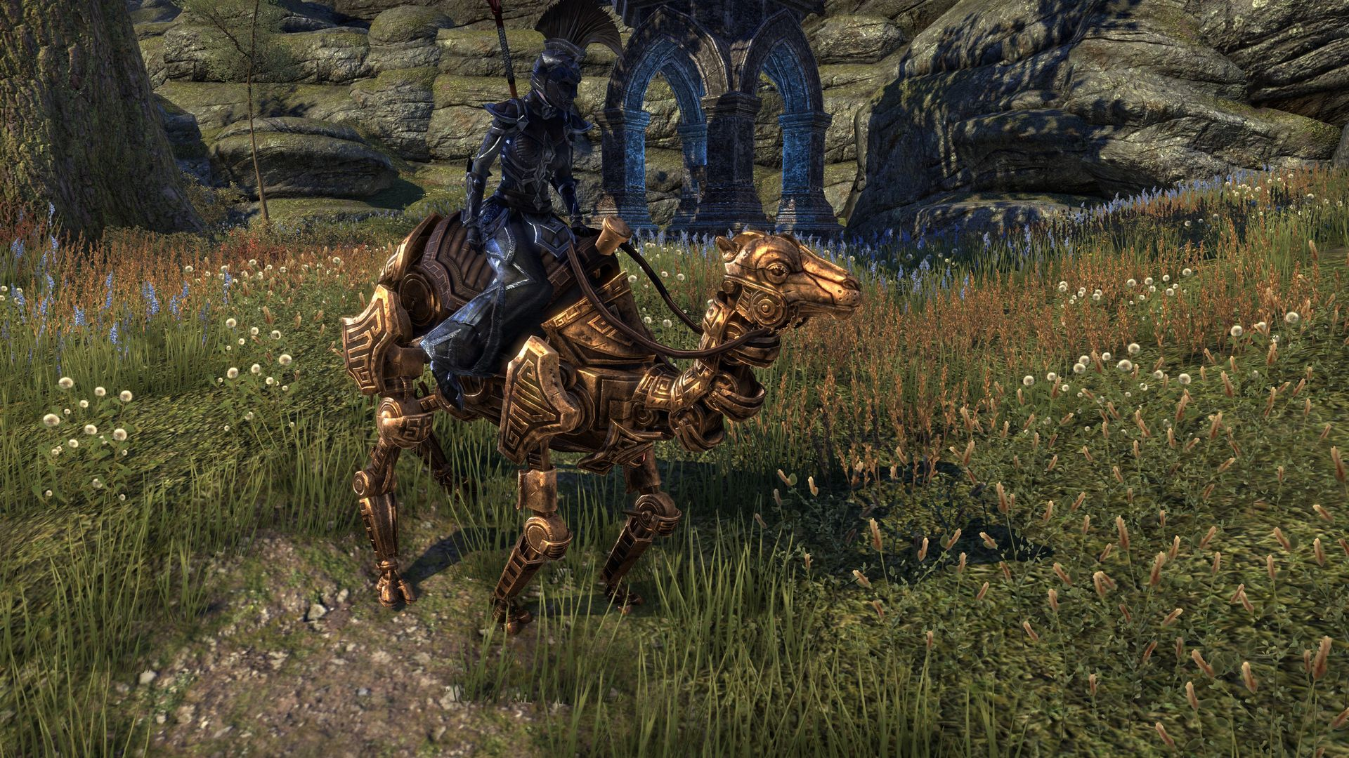 Dwarven Camel, Apex Mount, Dwarven Crown Crate (image by @serpentaa)