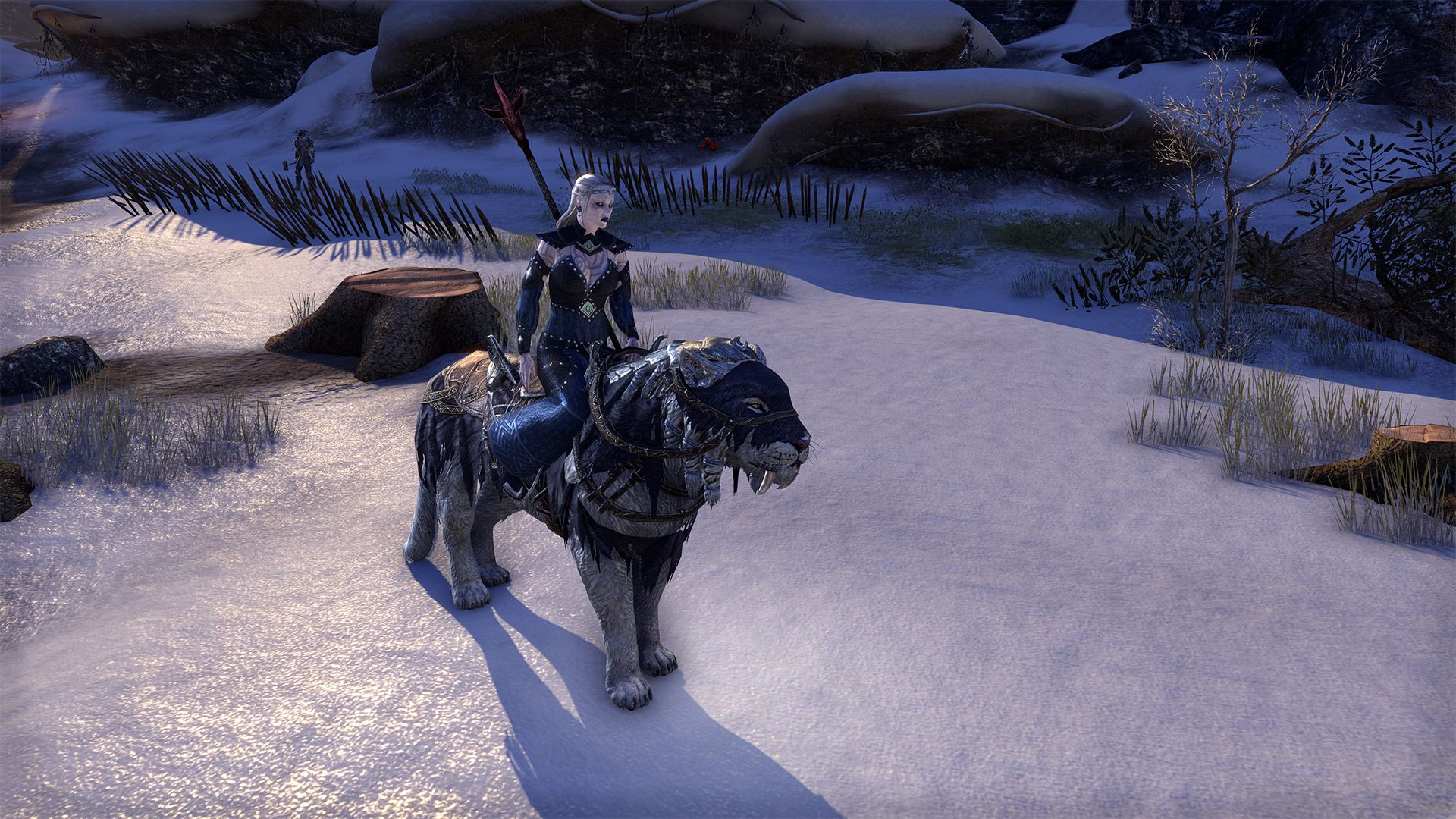 Frostbane Sabre Cat, Apex Mount, Scalecaller Crown Crate (image by @serpentaa)
