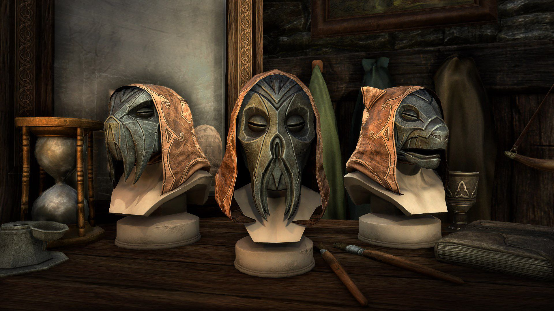 Tusked Dragon Priest Mask, Legendary Hat, Scalecaller Crown Crate (image by Zenimax Online)