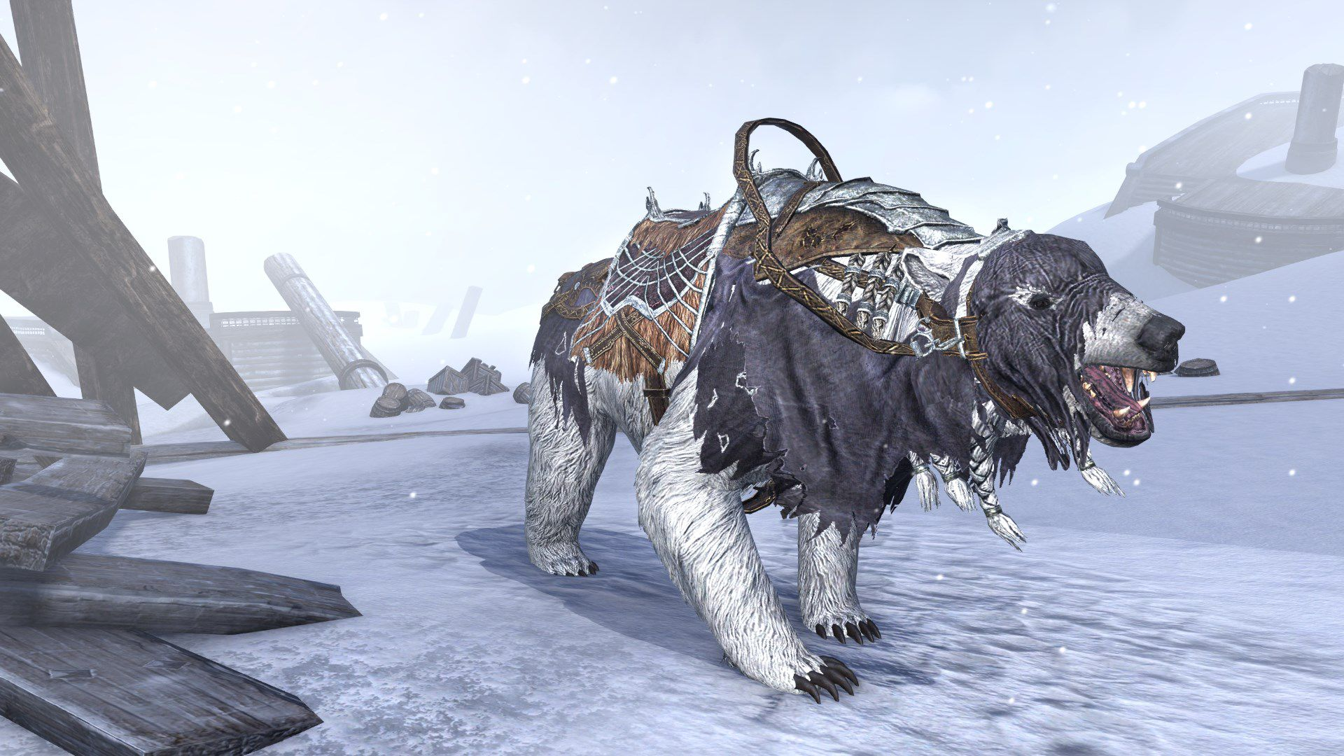 Frostbane Bear, Apex Mount, Scalecaller Crown Crate (image by Zenimax Online)