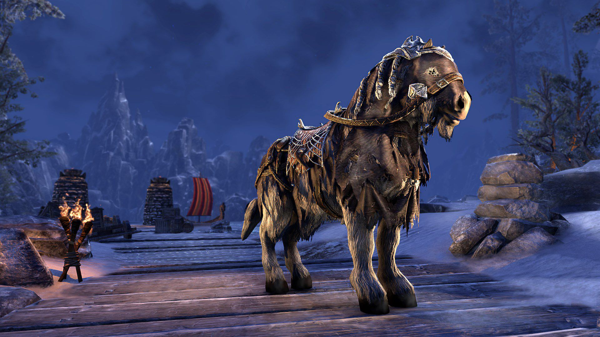 Frostbane Horse, Apex Mount, Scalecaller Crown Crate (image by Zenimax Online)