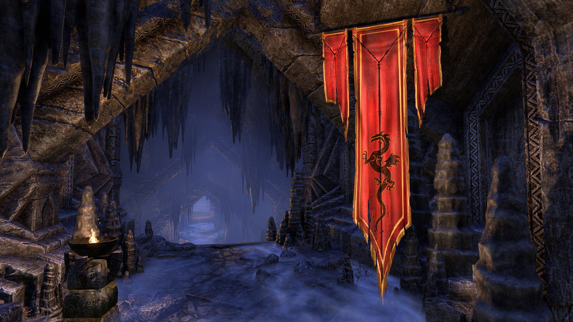 Tapestry of Peryite, Legendary Furniture, Scalecaller Crown Crate (image by Zenimax Online)