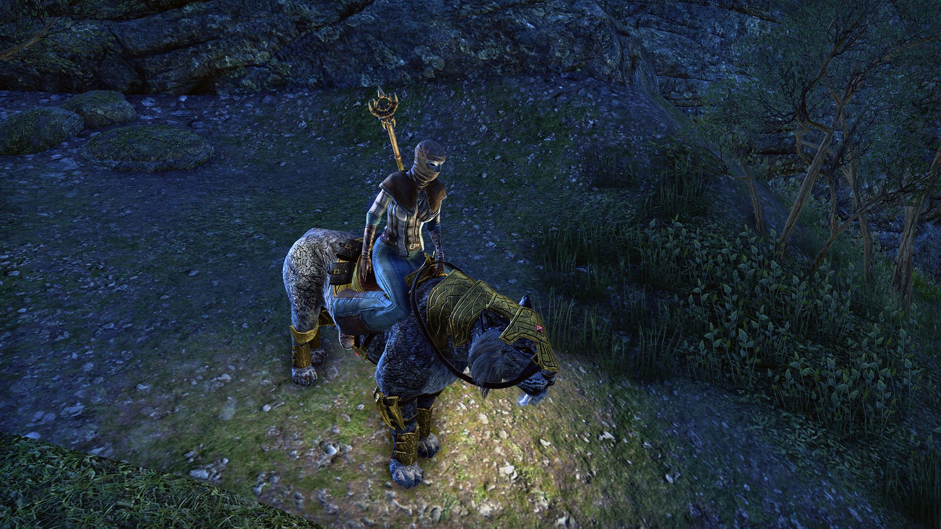 Sabre Cat, Legendary Mount, Scalecaller Crown Crate (image by Zenimax Online)