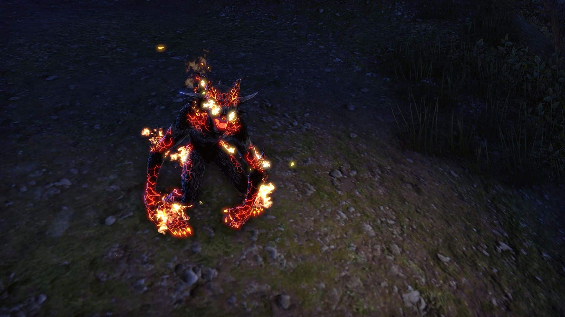 Magma Scamp, Legendary Non-Combat Pet, Scalecaller Crown Crate (image by Zenimax Online)