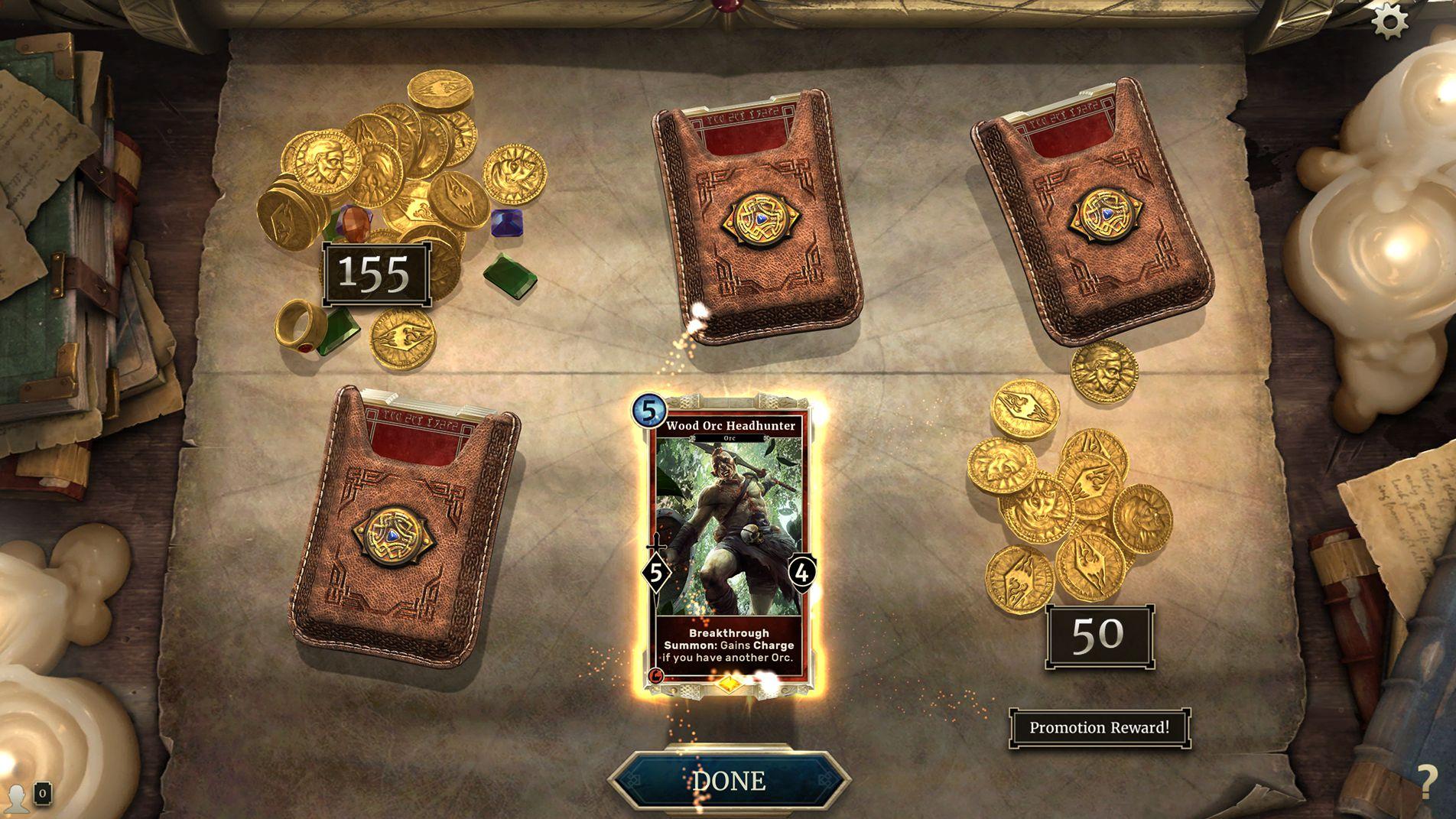 The Elder Scrolls: Legends - Solo & PvP Arena Rewards