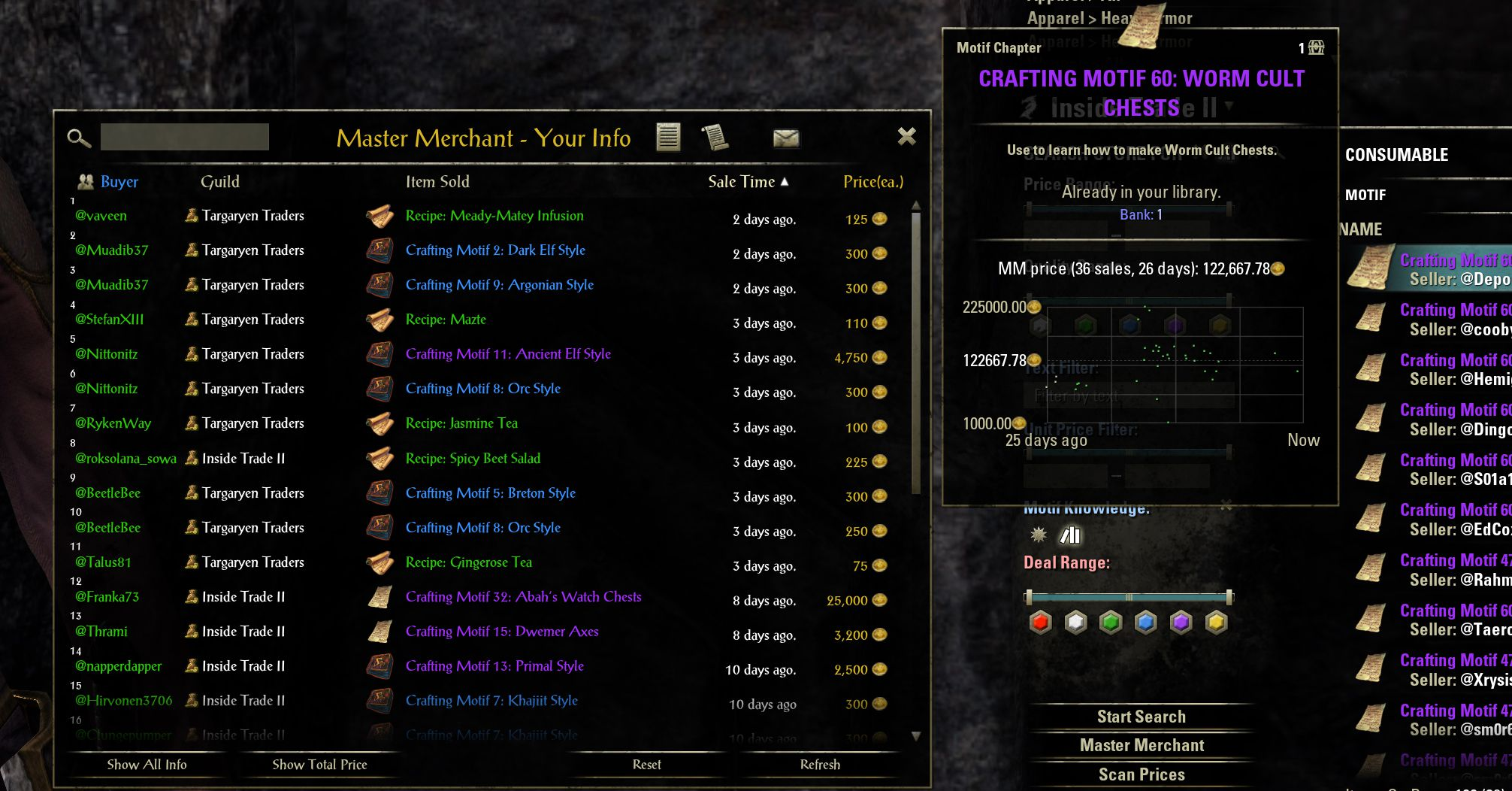 Master Merchant by Philgo68, The Elder Scrolls Online Addon (image by @serpentaa)