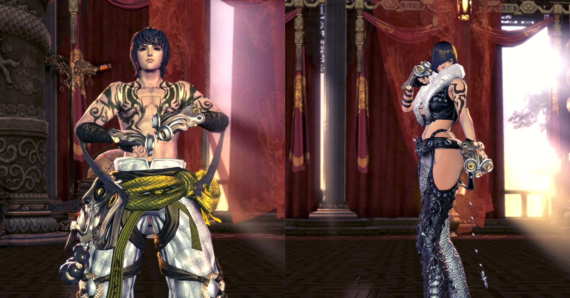 Kung Fu Master, Blade & Soul Class, Male Jin & Female Jin