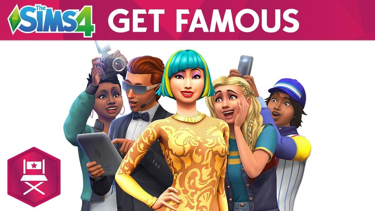 The Sims 4 Expansion Pack, Get Famous