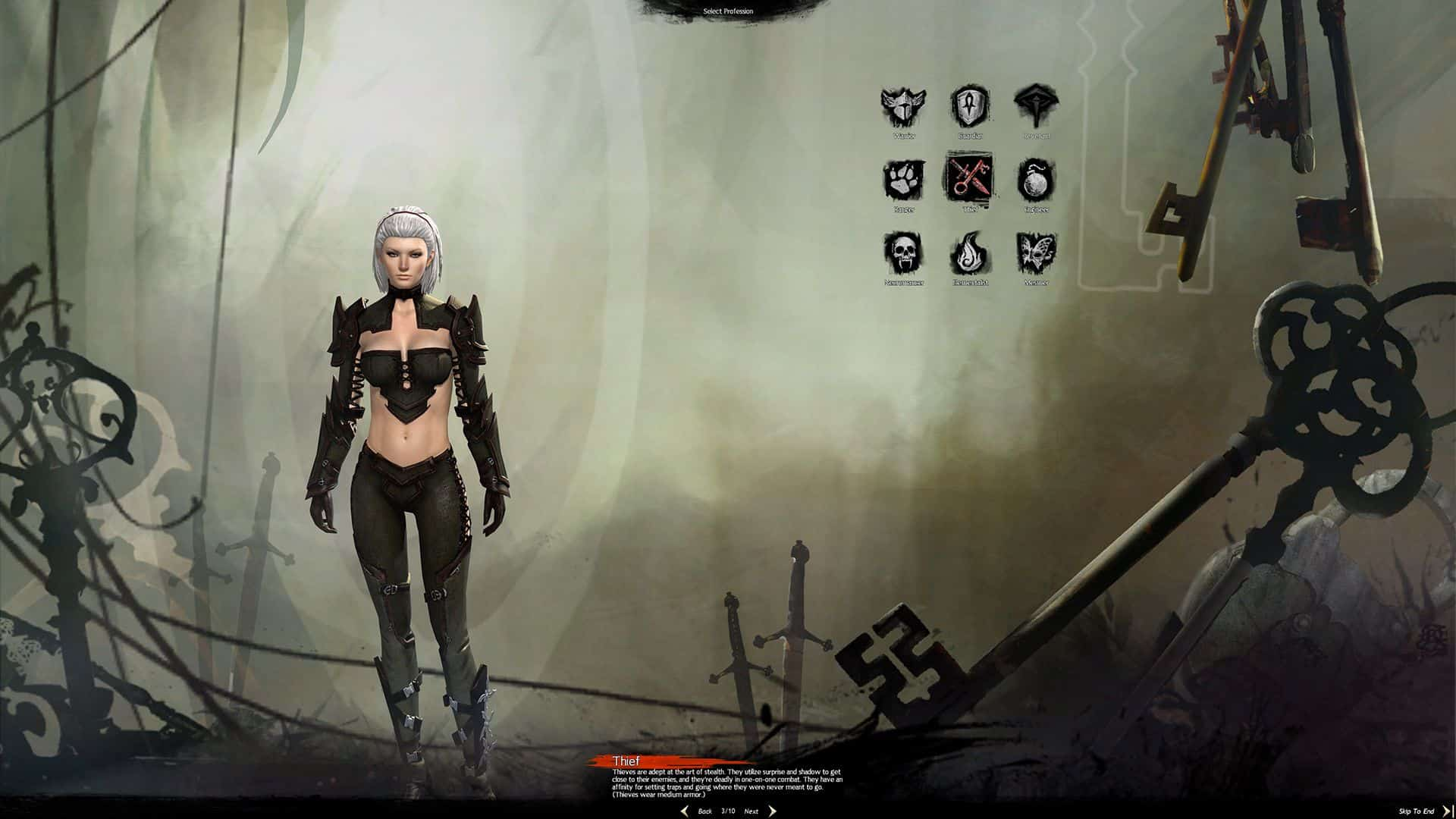 Female Norn Thief, Guild Wars 2 Class