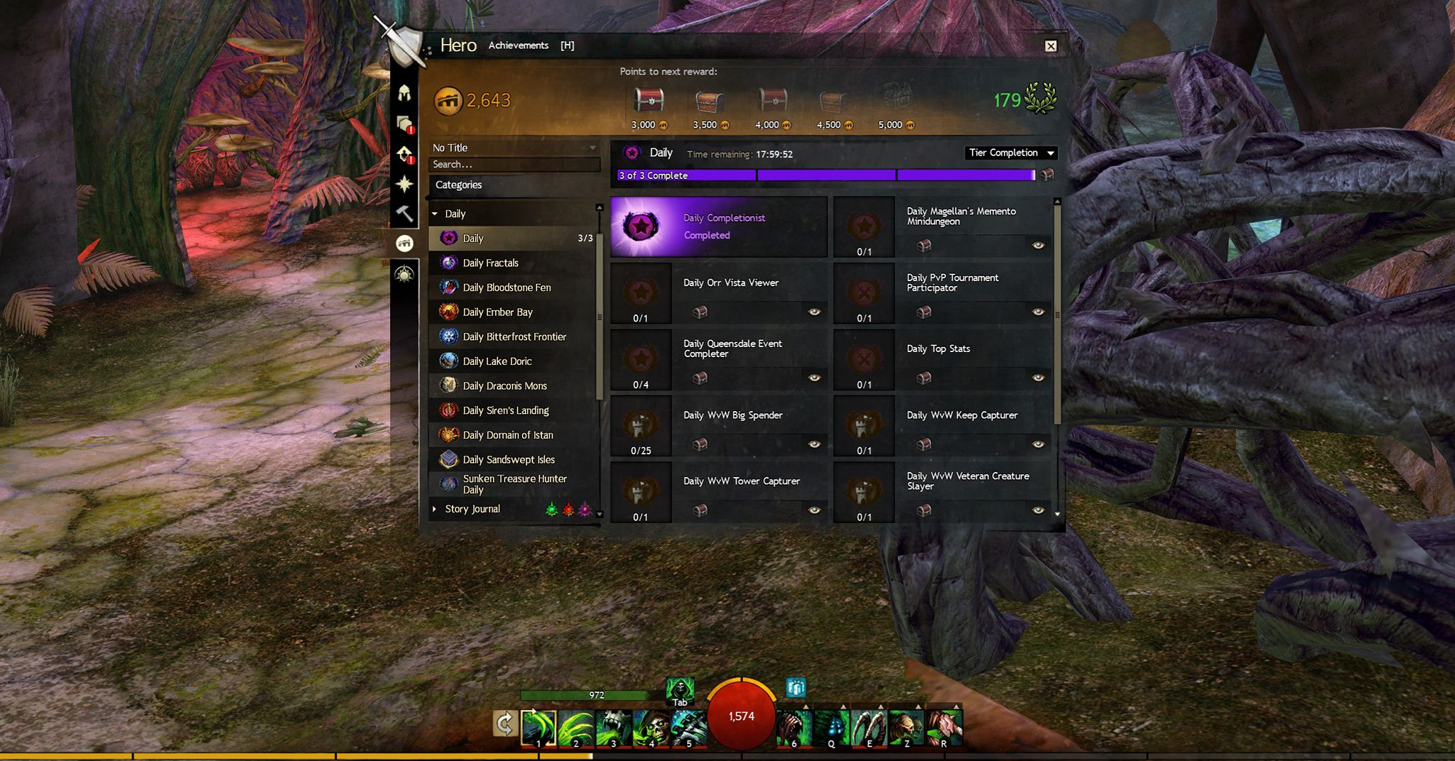 Guild Wars 2 - Server Reset Time for Dailies & Login Rewards