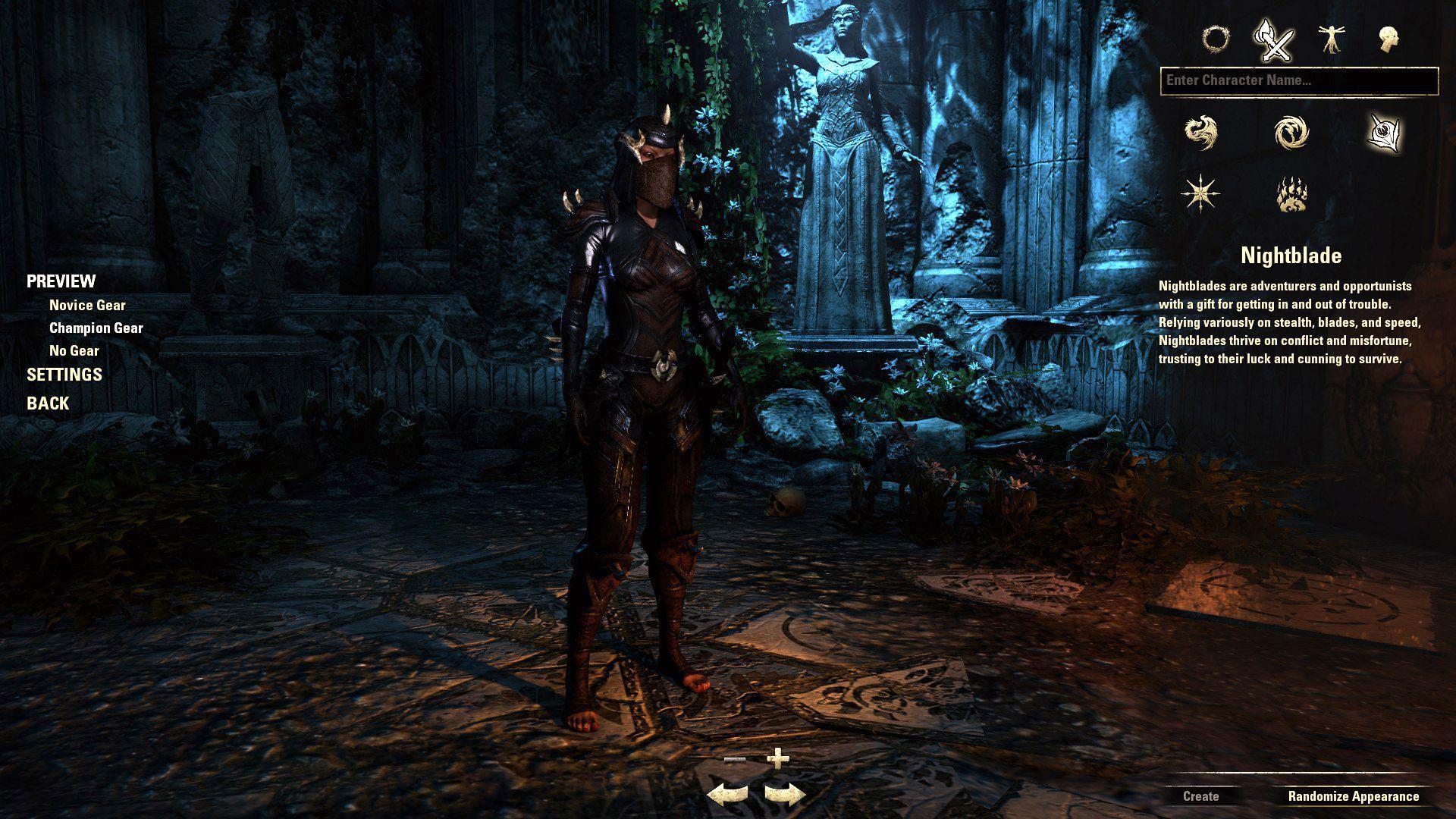 Nightblade, The Elder Scrolls Online Class