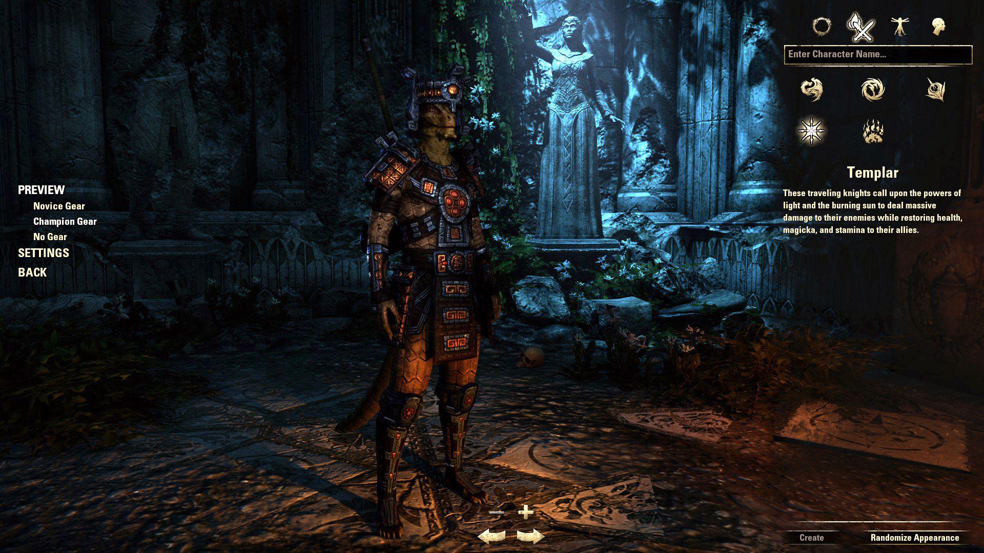 Templar, The Elder Scrolls Online Class