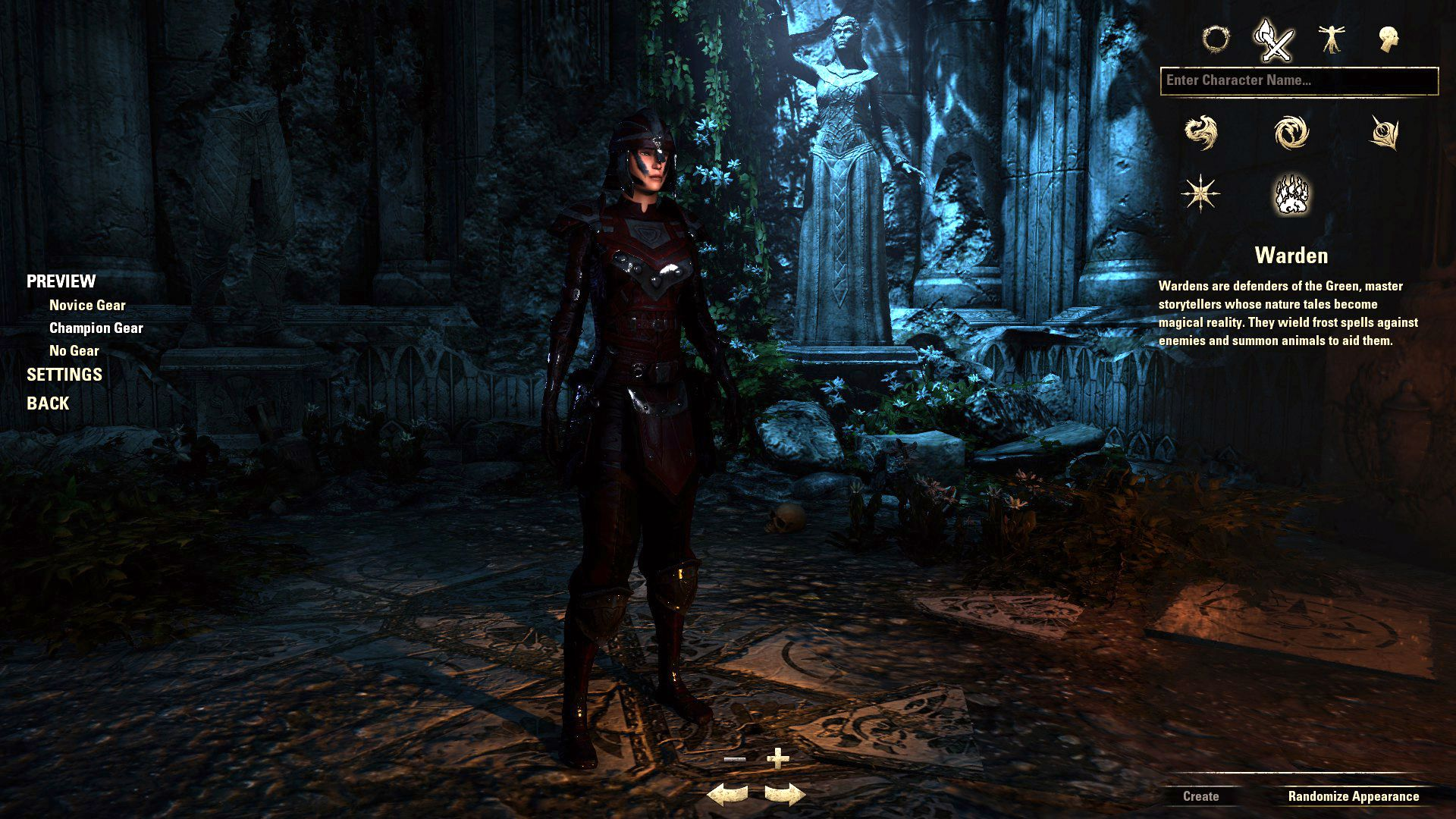 Warden, The Elder Scrolls Online Class