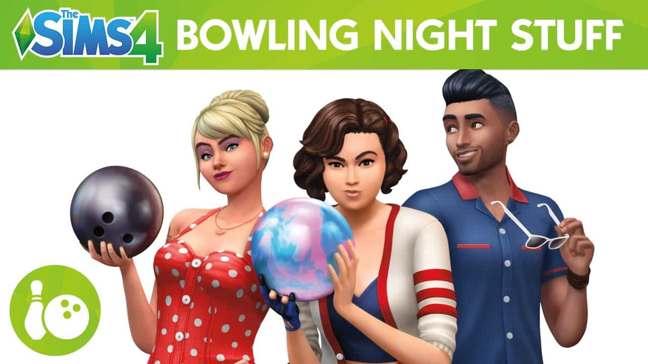 The Sims 4 Stuff Pack, Bowling Night Stuff