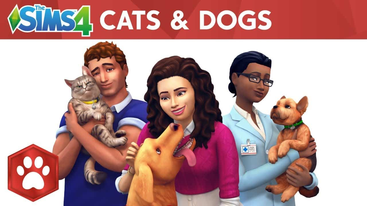 The Sims 4 Expansions Pack, Cats & Dogs
