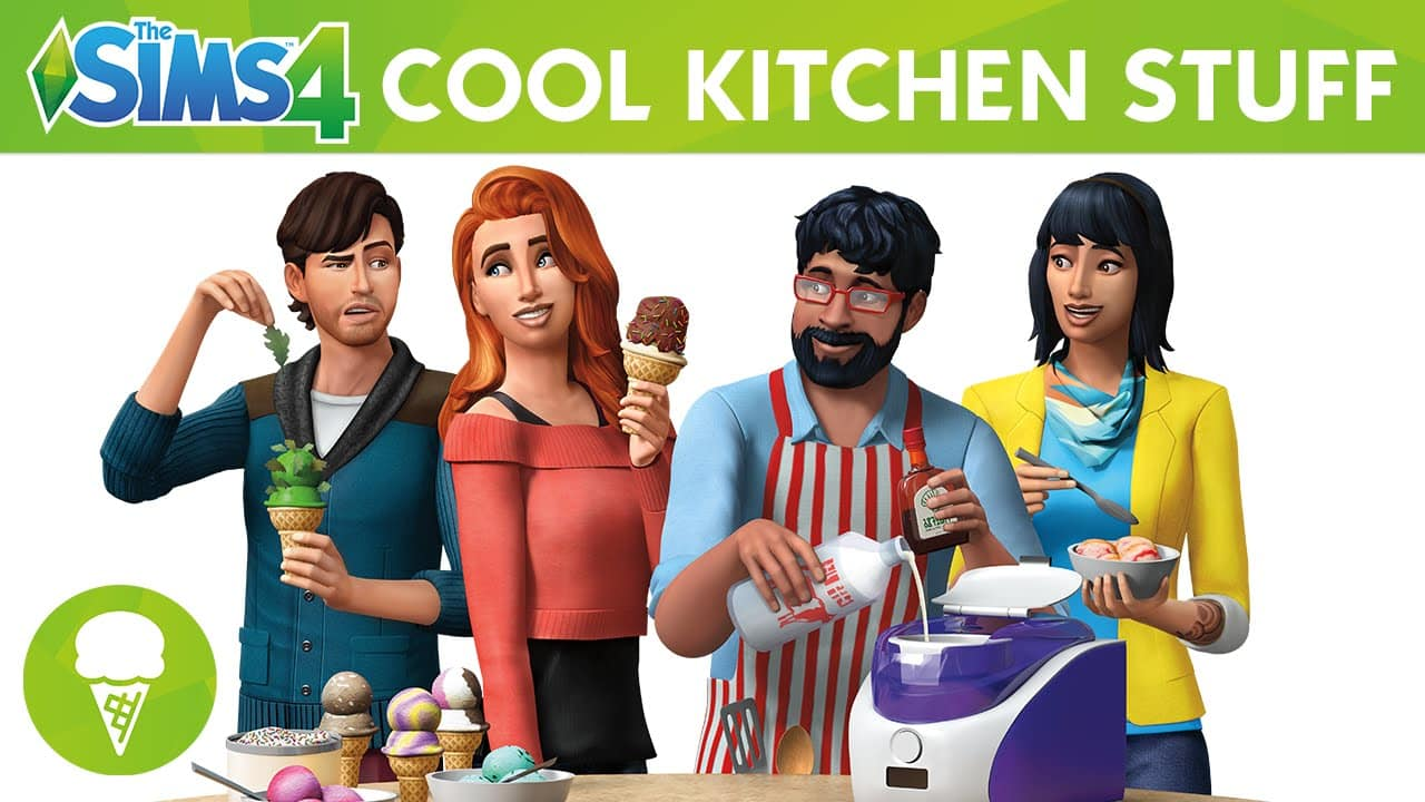 The Sims 4 Stuff Pack, Cool Kitchen Stuff
