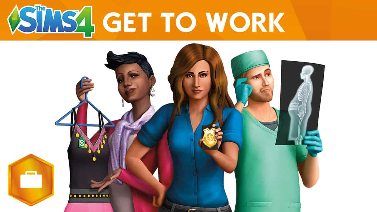 The Sims 4 Expansion Pack, Get To Work