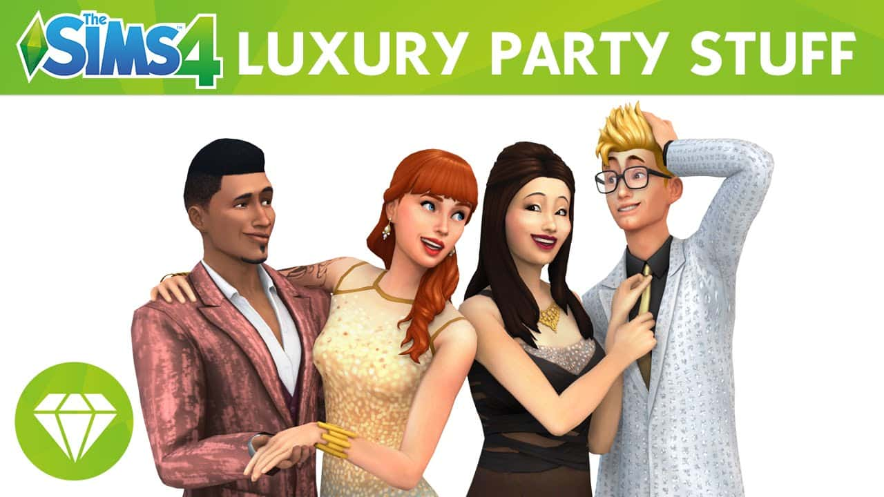 The Sims 4 Stuff Pack, Luxury Party Stuff