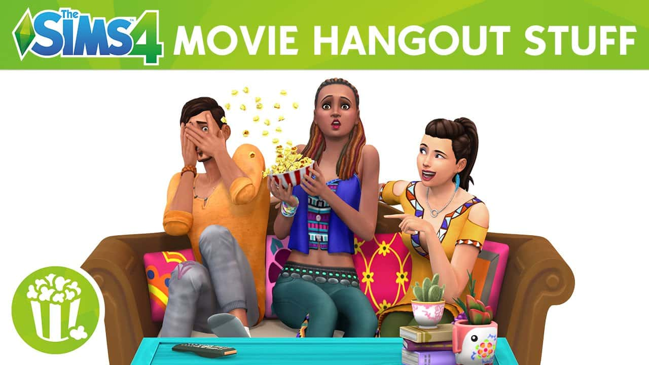 The Sims 4 Stuff Pack, Movie Hangout Stuff