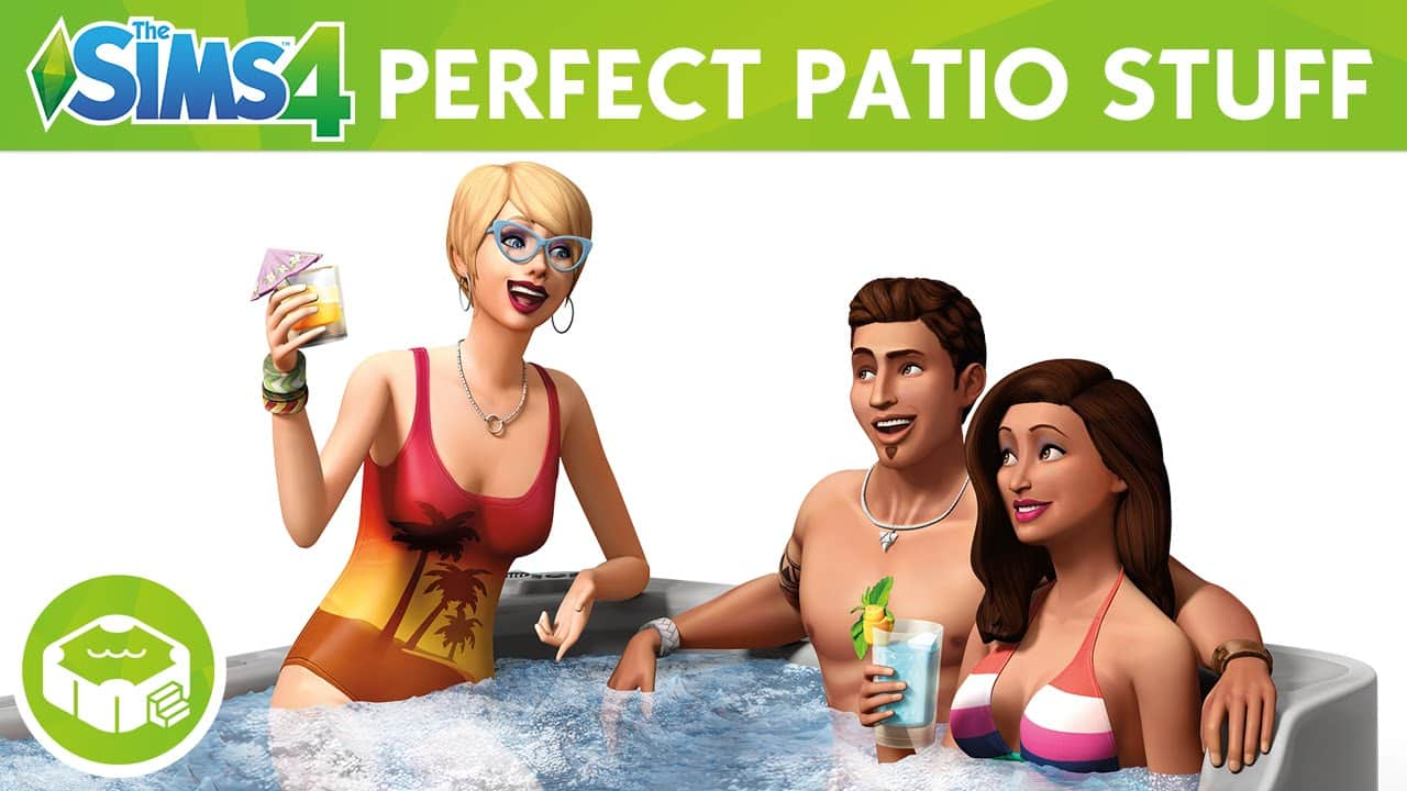 The Sims 4 Stuff Pack, Perfect Patio Stuff