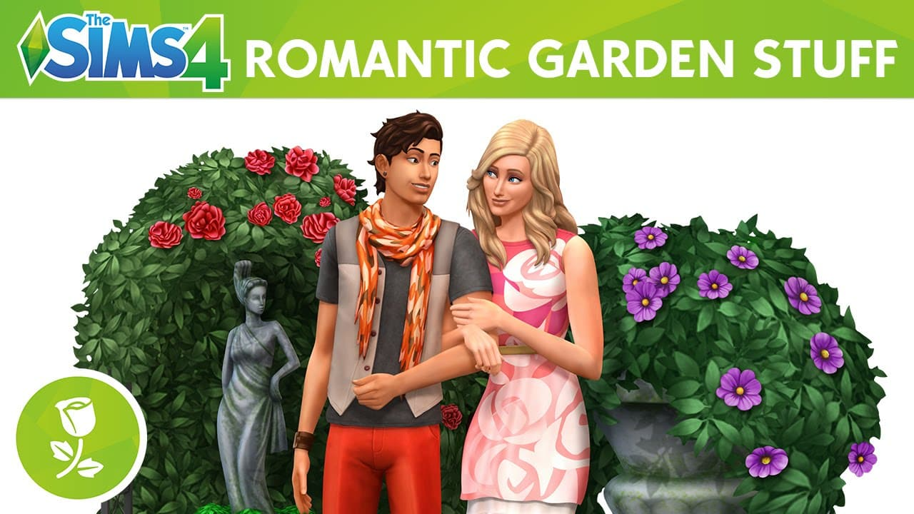 The Sims 4 Stuff Pack, Romantic Garden Stuff