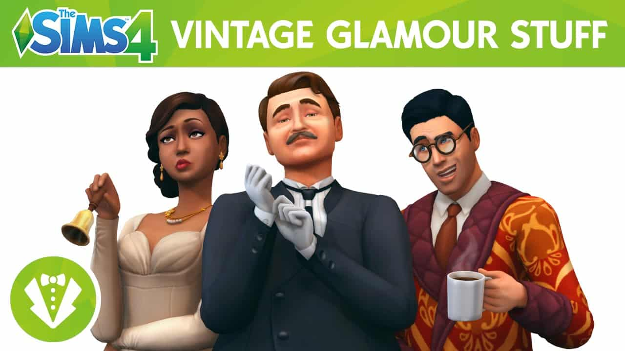 The Sims 4 Stuff Pack, Vintage Glamour Stuff