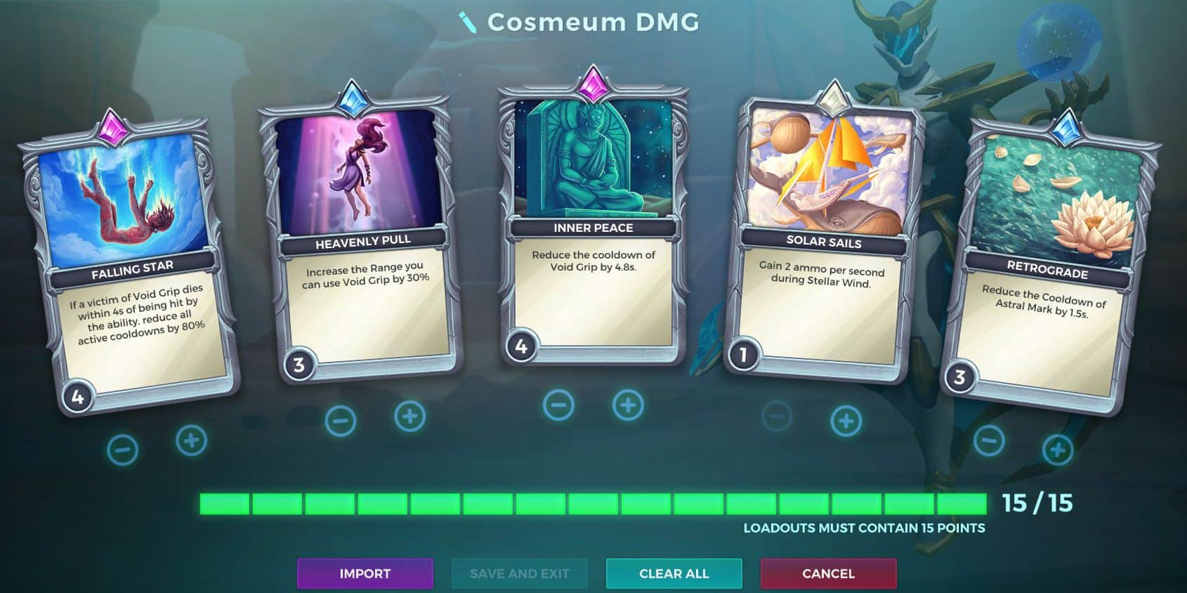 Jenos, The Power Cosmeum Ability, Damage Loadout, Paladins
