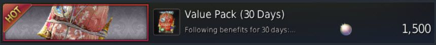 Get Weight Limit Increase by using a Value Pack