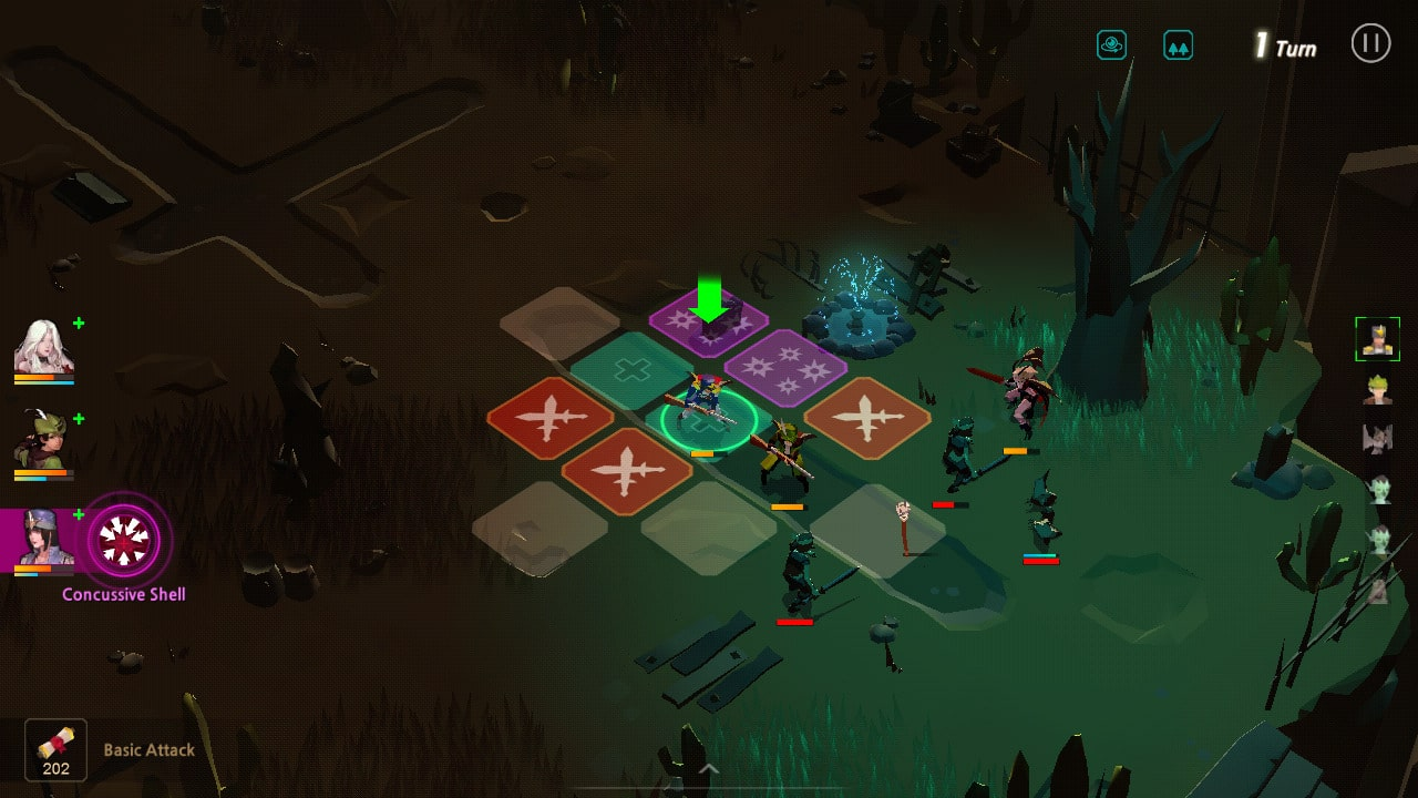 Man or Vampire, iOS & Android Strategy-RPG Game (image by @Rainfelt)