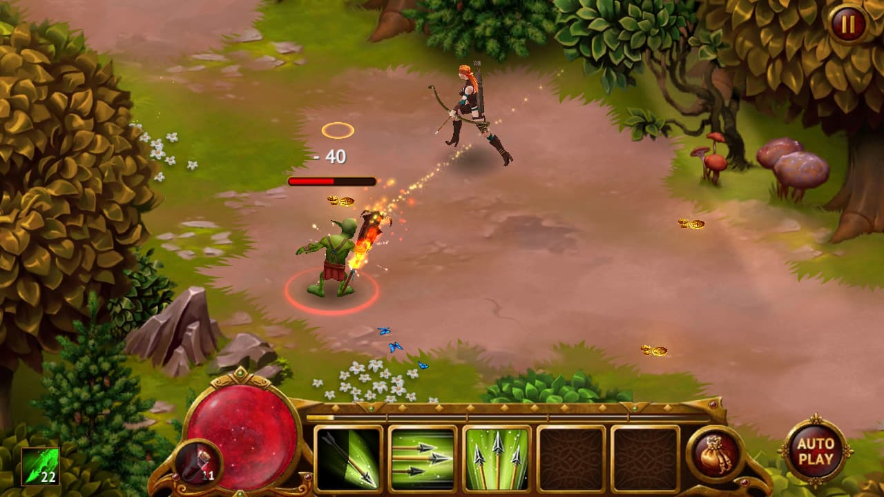 Guild of Heroes, iOS & Android Action-RPG Game (image by @Rainfelt)