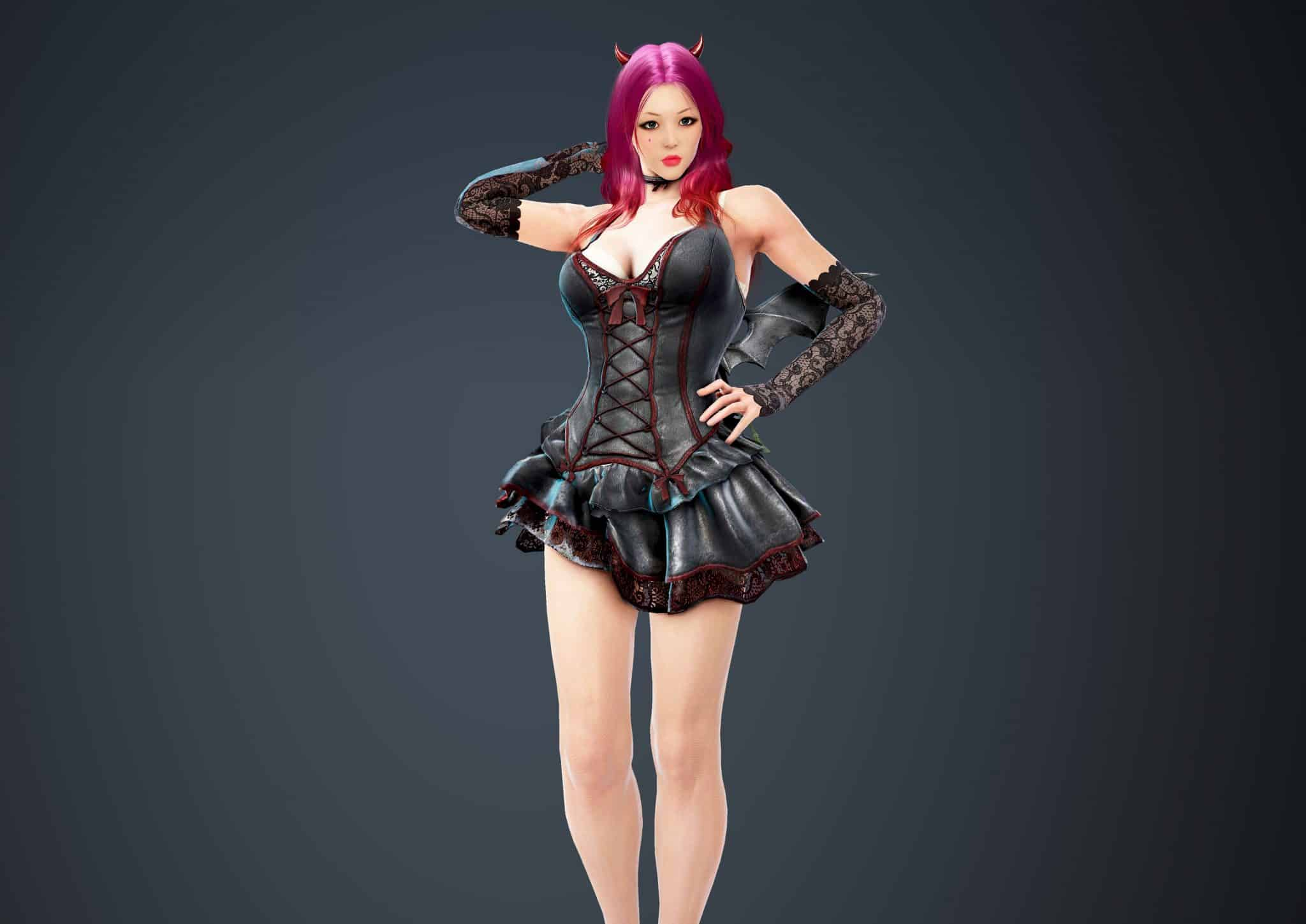 Kunoichi Bloody Dress, Bloody Outfit Set, Halloween 2018, Black Desert Online