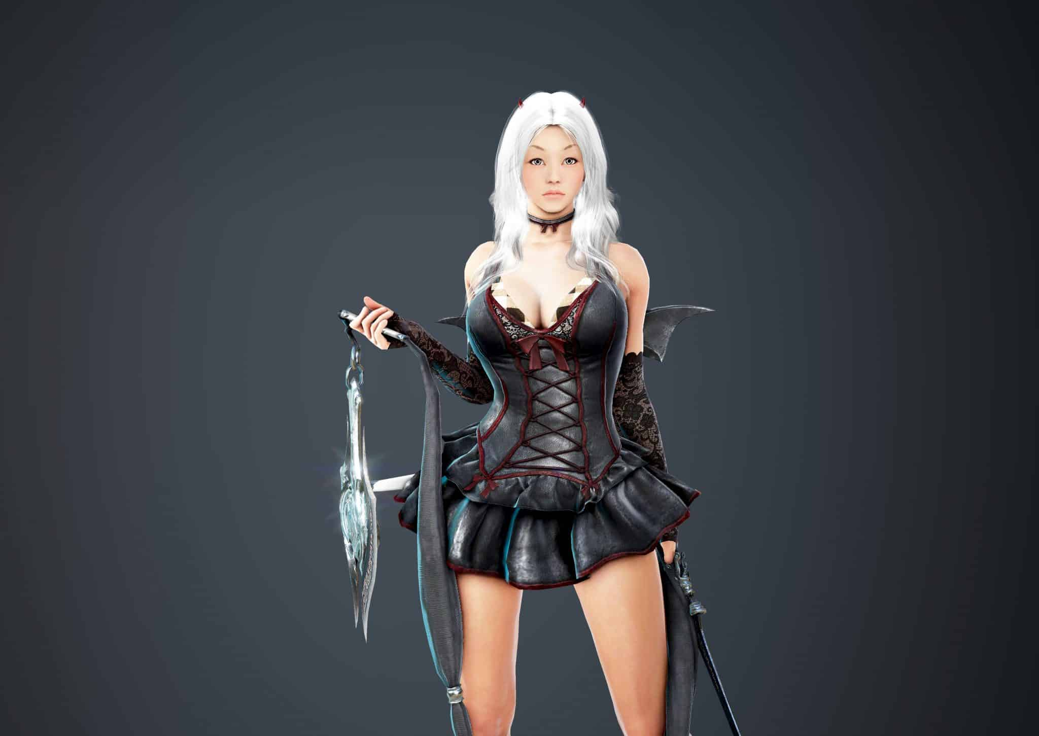 Lahn Bloody Dress, Bloody Outfit Set, Halloween 2018, Black Desert Online