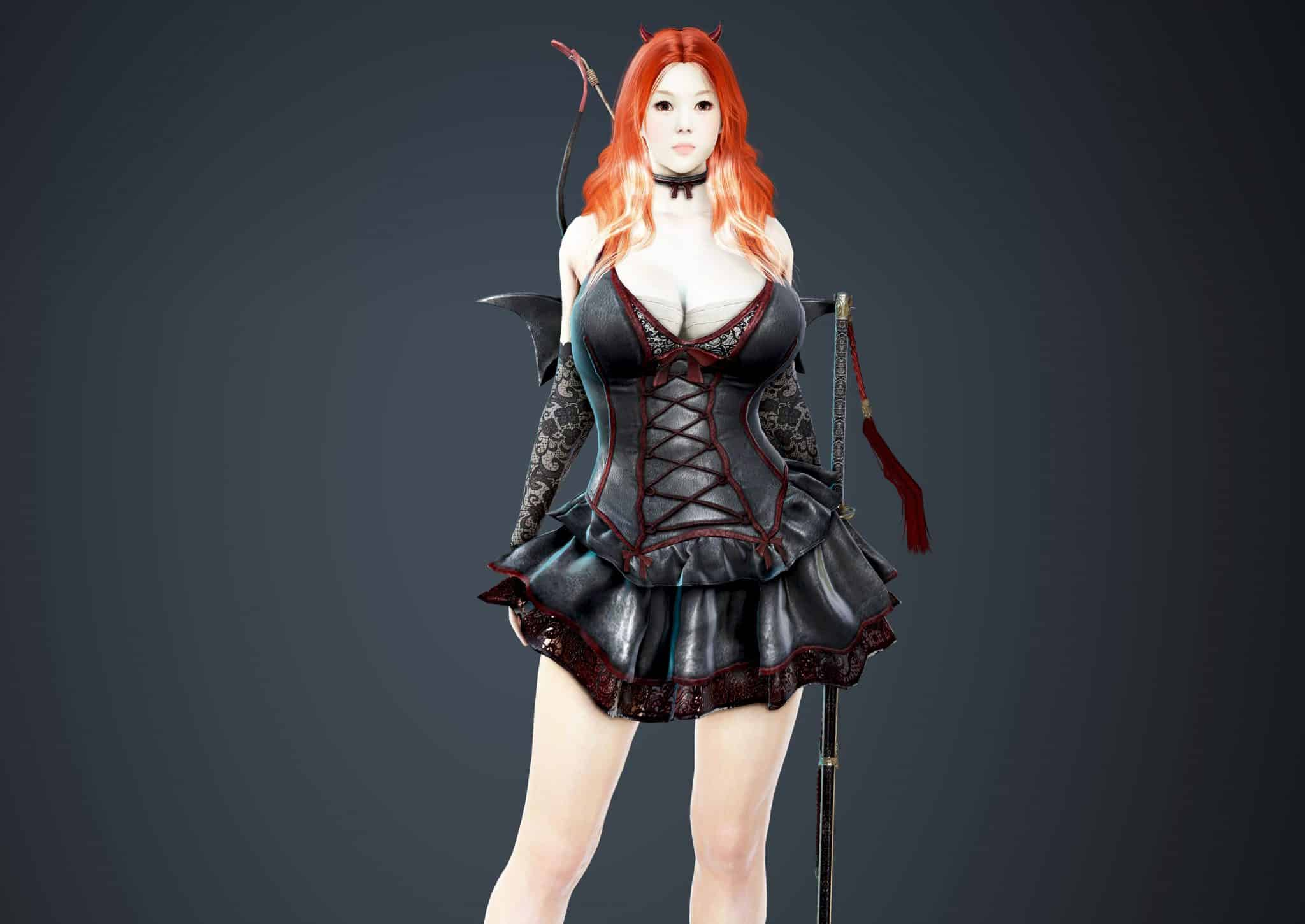 Maehwa Bloody Dress, Bloody Outfit Set, Halloween 2018, Black Desert Online