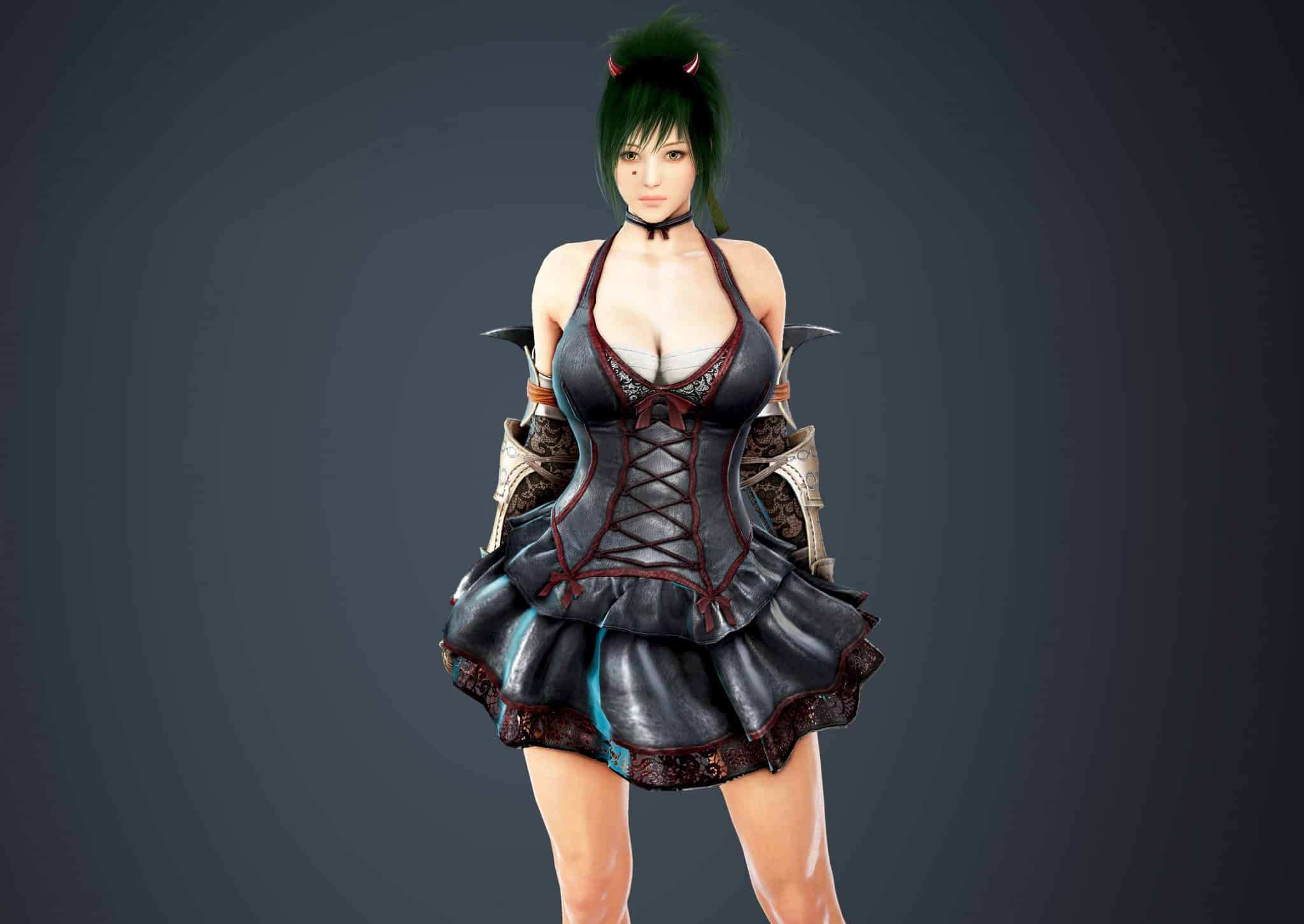 Mystic Bloody Dress, Bloody Outfit Set, Halloween 2018, Black Desert Online
