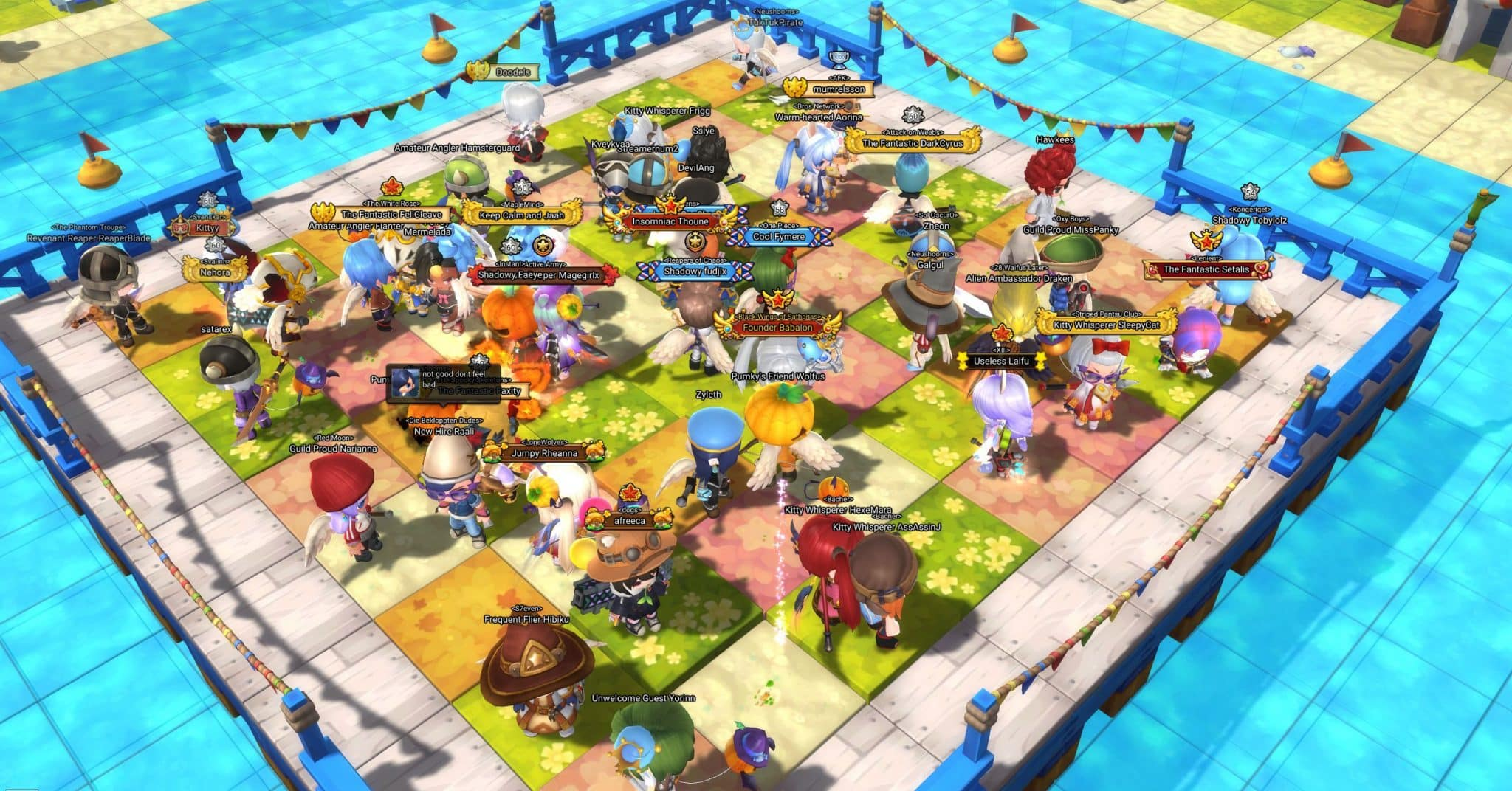 Spring Beach, Maple Story 2 Mini-Game