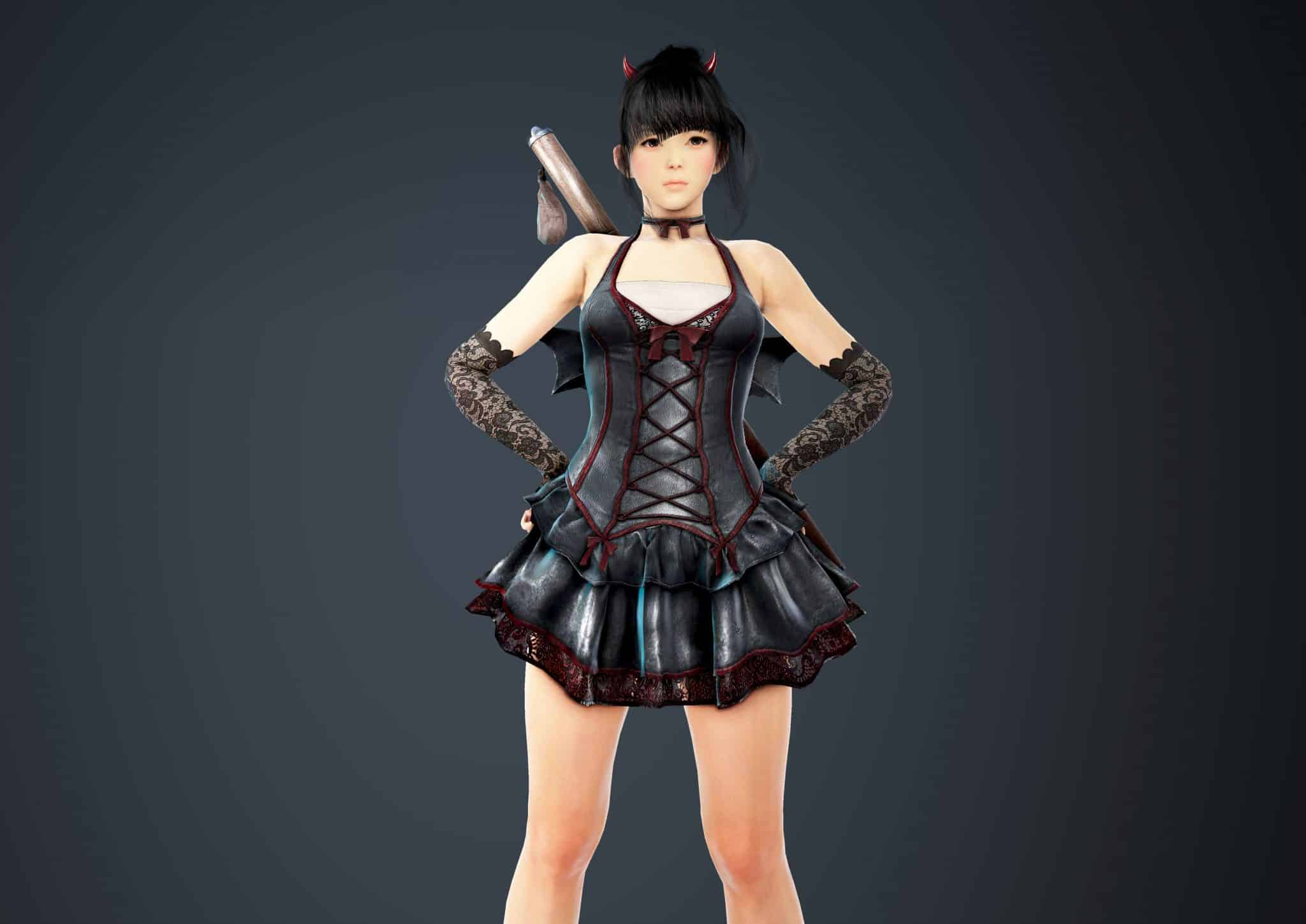 Tamer Bloody Dress, Bloody Outfit Set, Halloween 2018, Black Desert Online