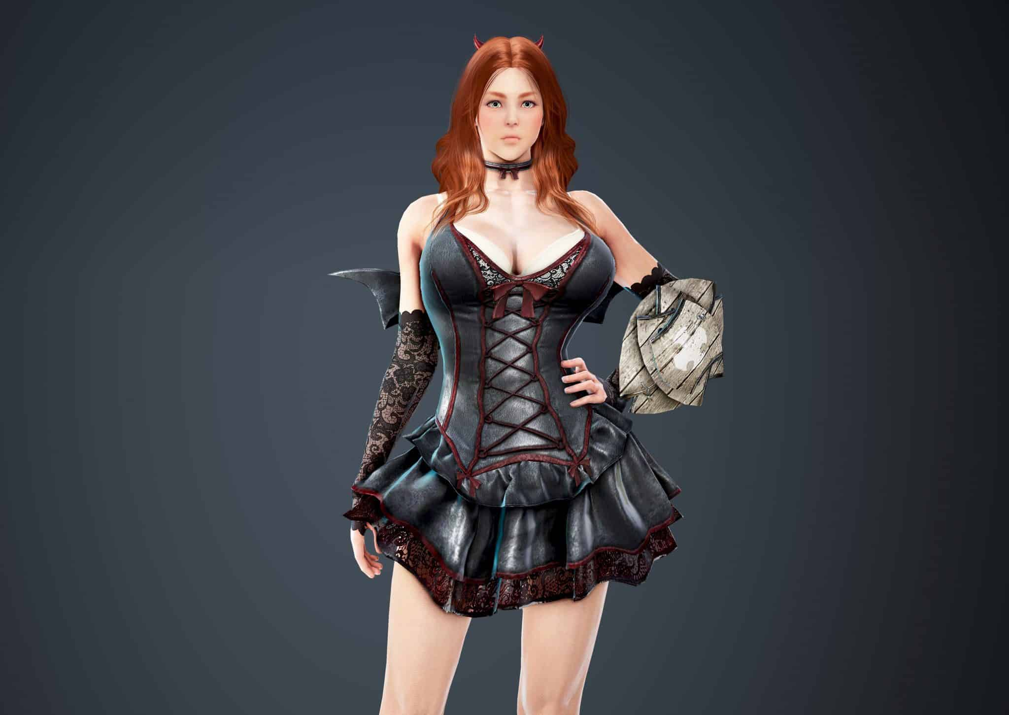Valkyrie Bloody Dress, Bloody Outfit Set, Halloween 2018, Black Desert Online