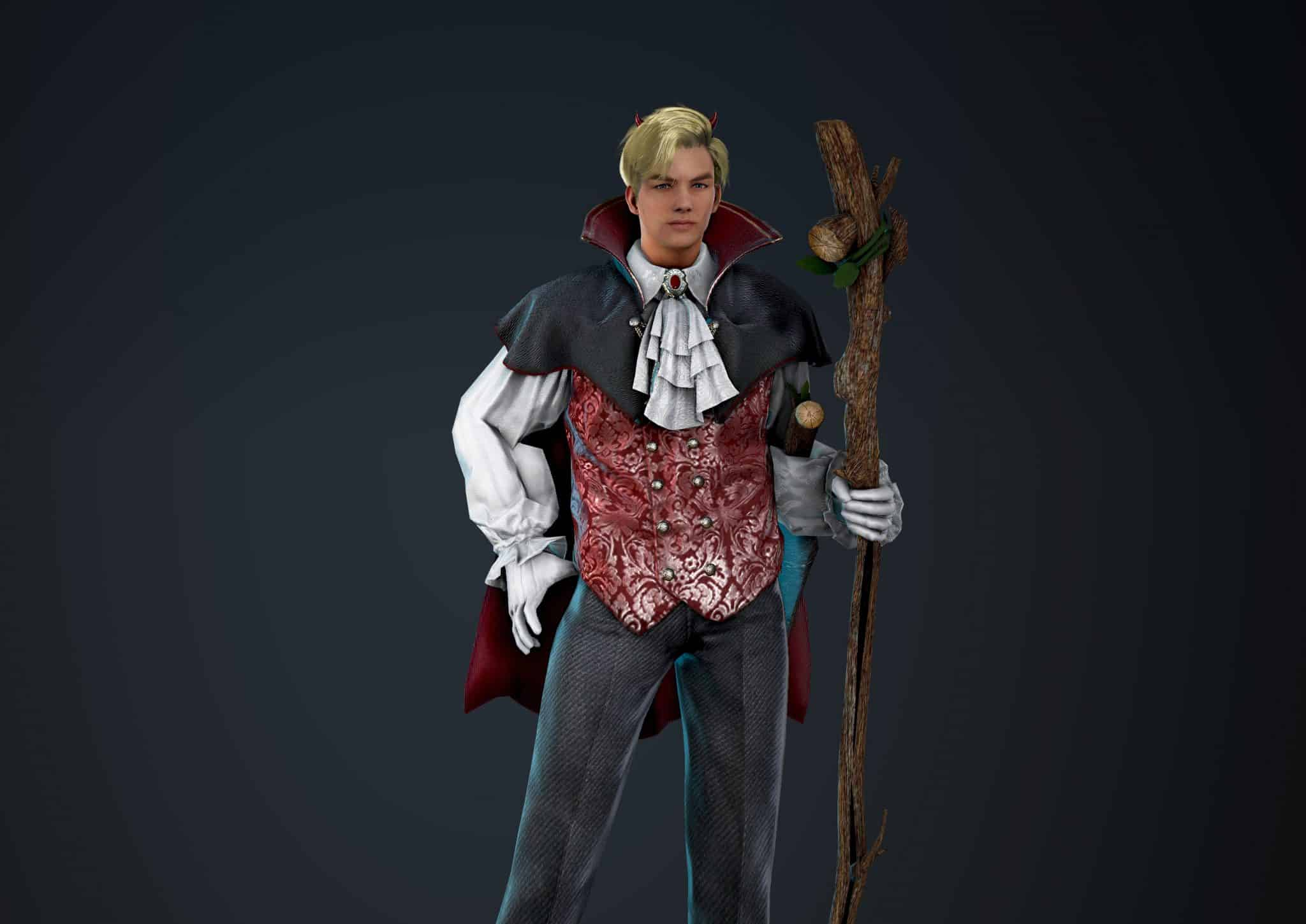 Wizard Bloody Suit, Bloody Outfit Set, Halloween 2018, Black Desert Online