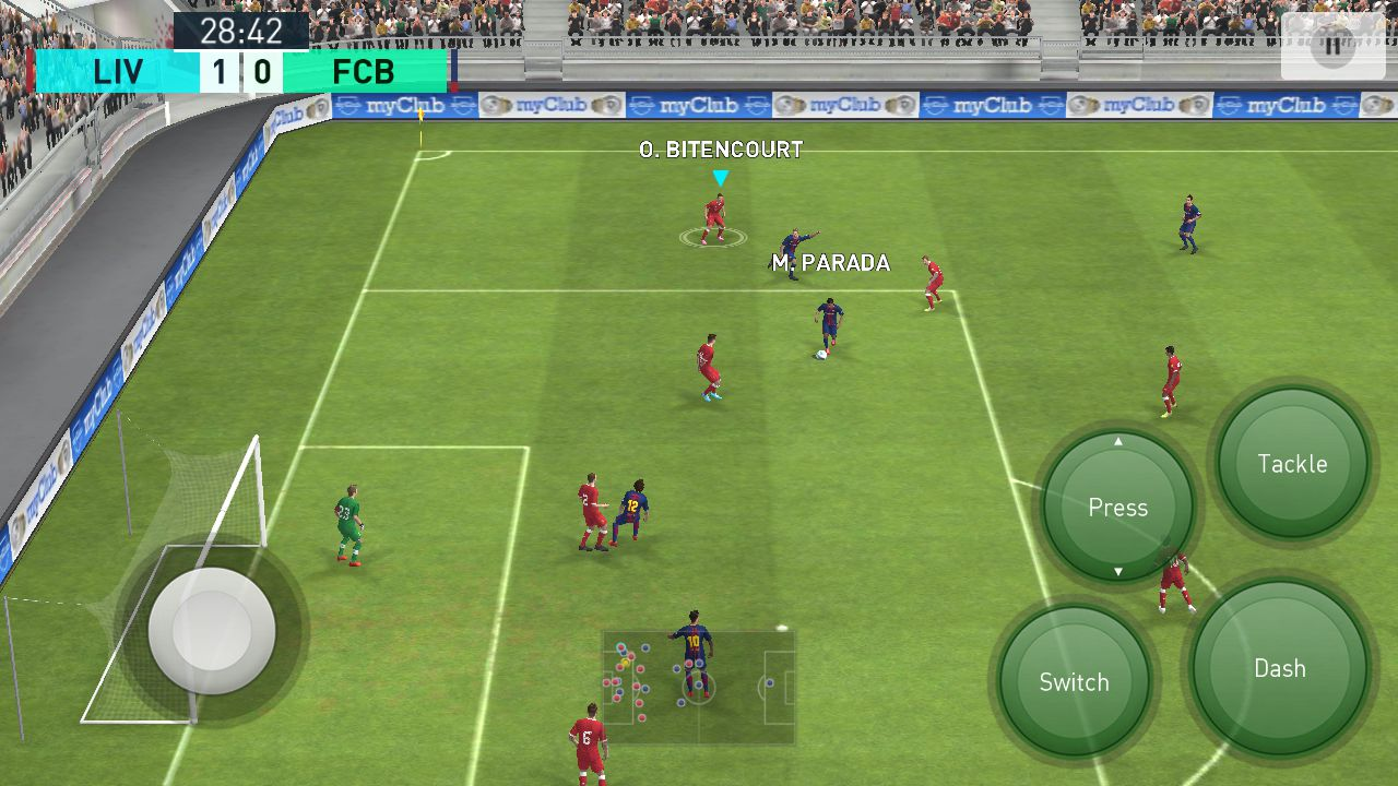 Pro Evolution Soccer, Android Football Game (image by @Rainfelt)