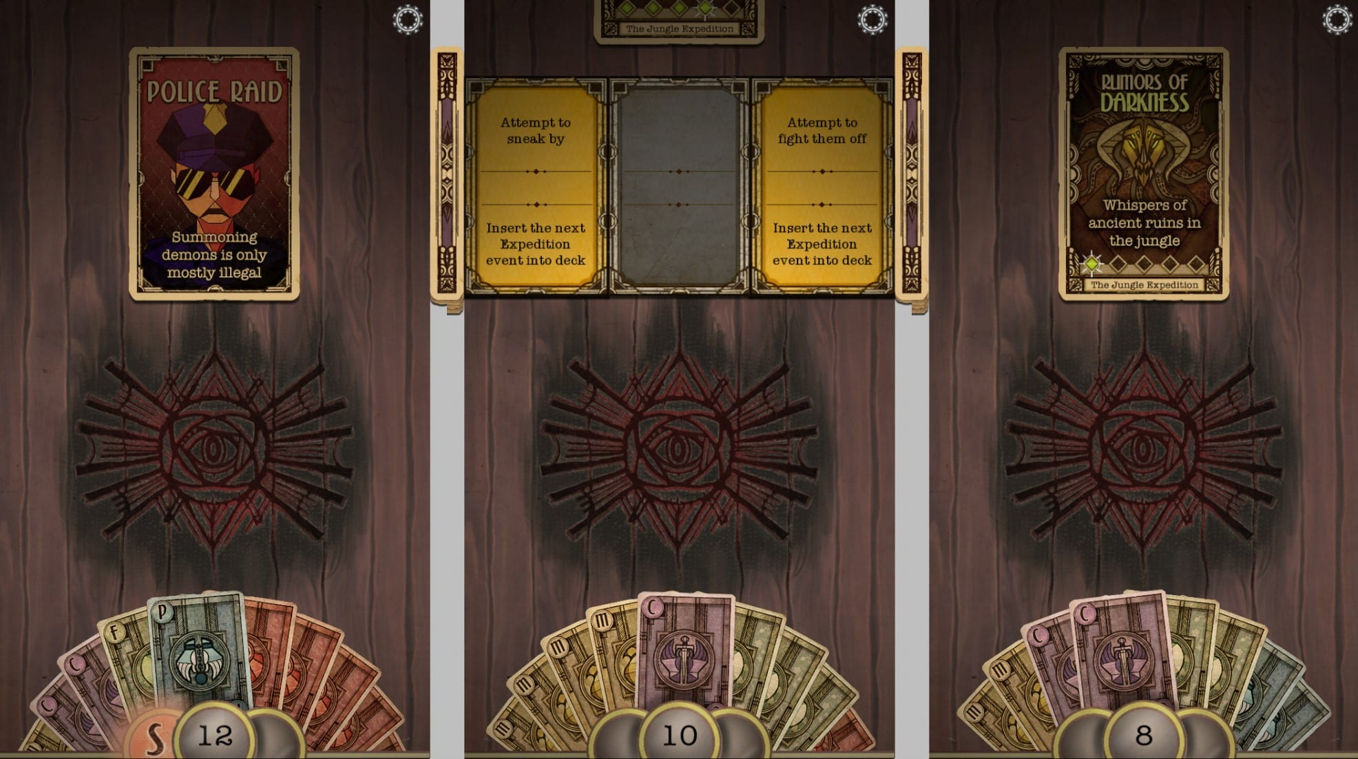 Underhand, iOS & Android Collectible Card Game (image by @XReaction)