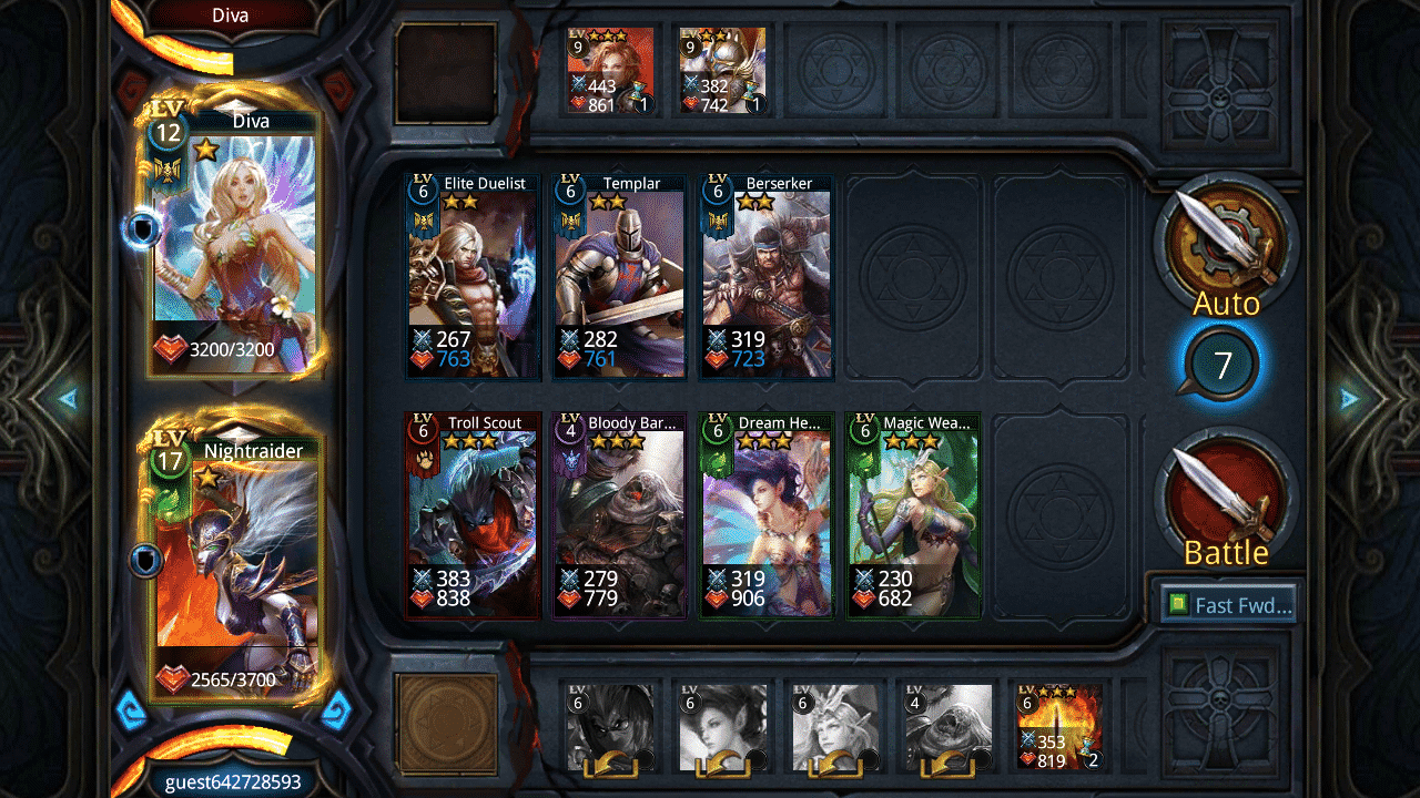 Deck Heroes: Legacy, iOS & Android Collectible Card Game (image by @XReaction)