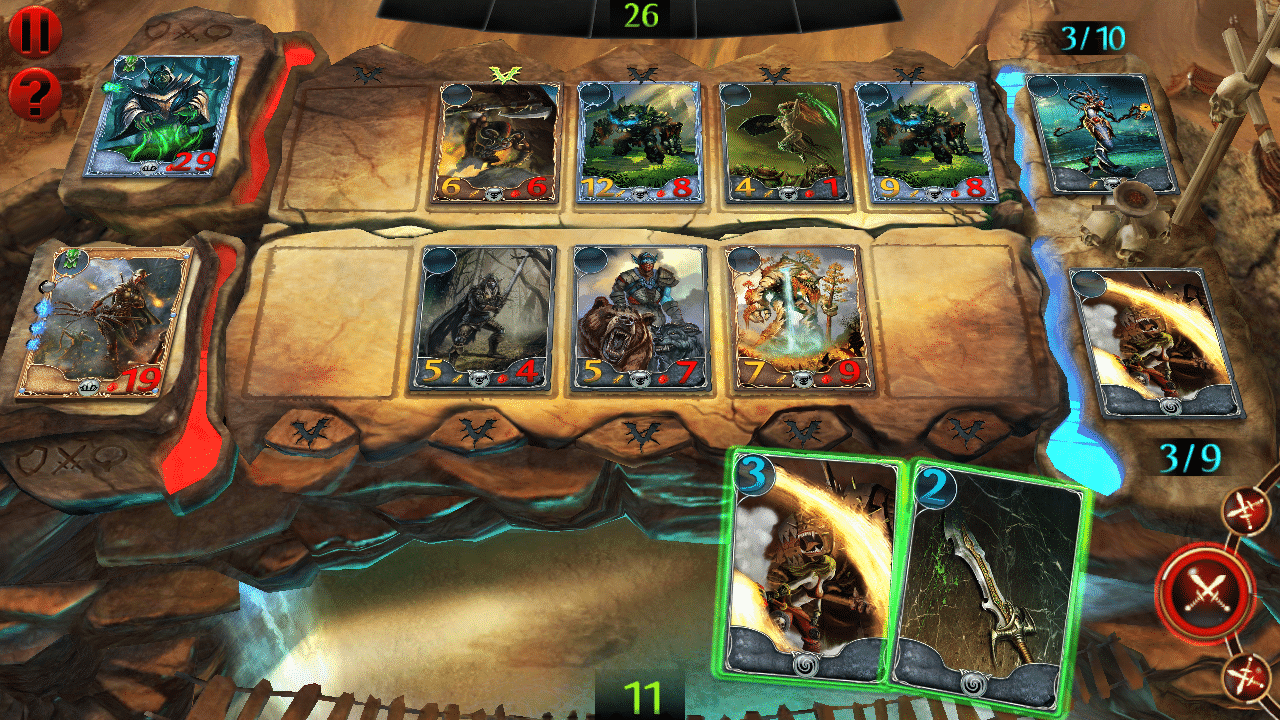 Order and Chaos Duels, iOS & Android Collectible Card Game (image by @XReaction)